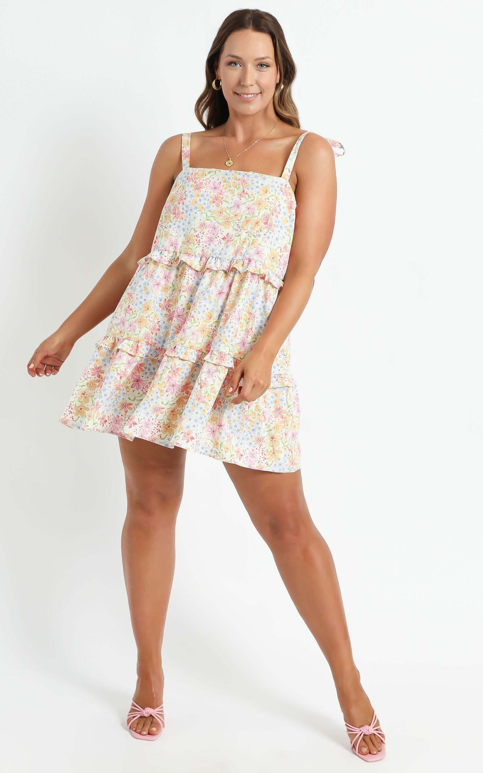 Alimia Dress in Multi Floral - 06, MLT1, hi-res image number null