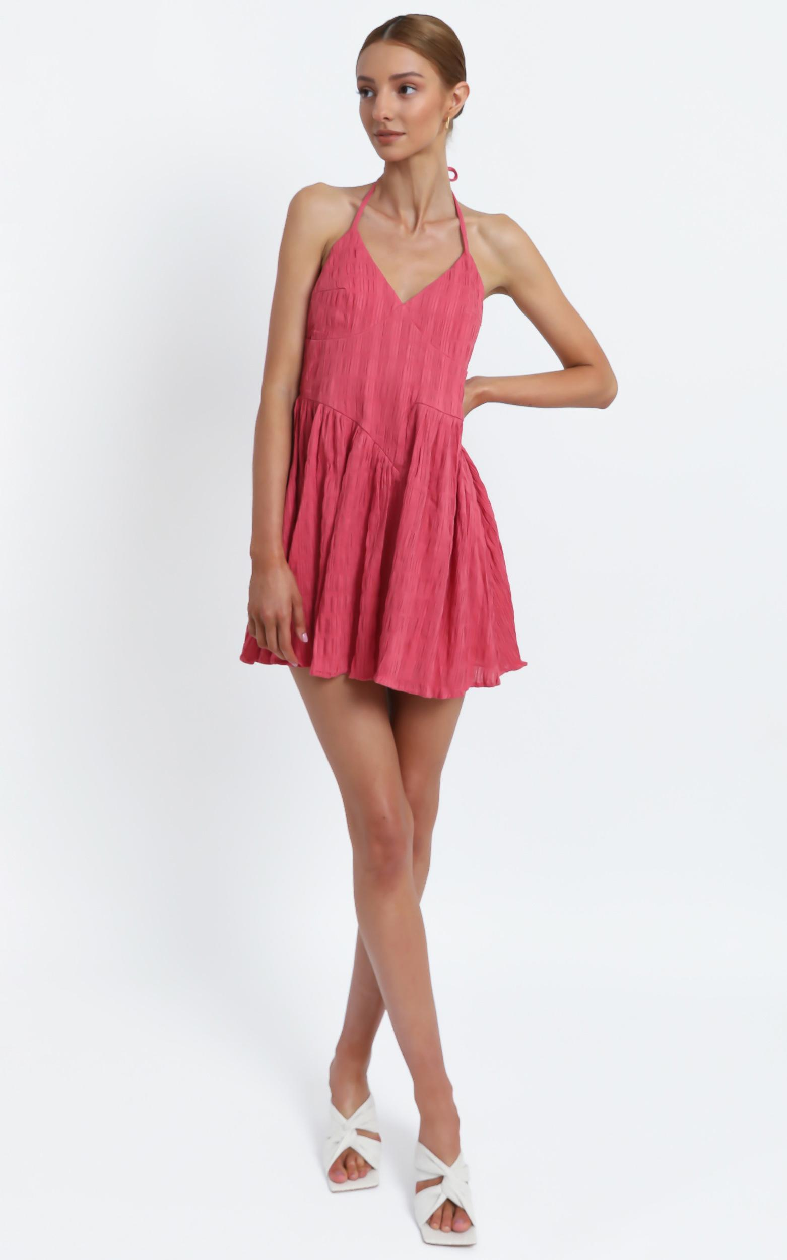 Mystic Dress in Watermelon - 16 (XXL), Pink, hi-res image number null
