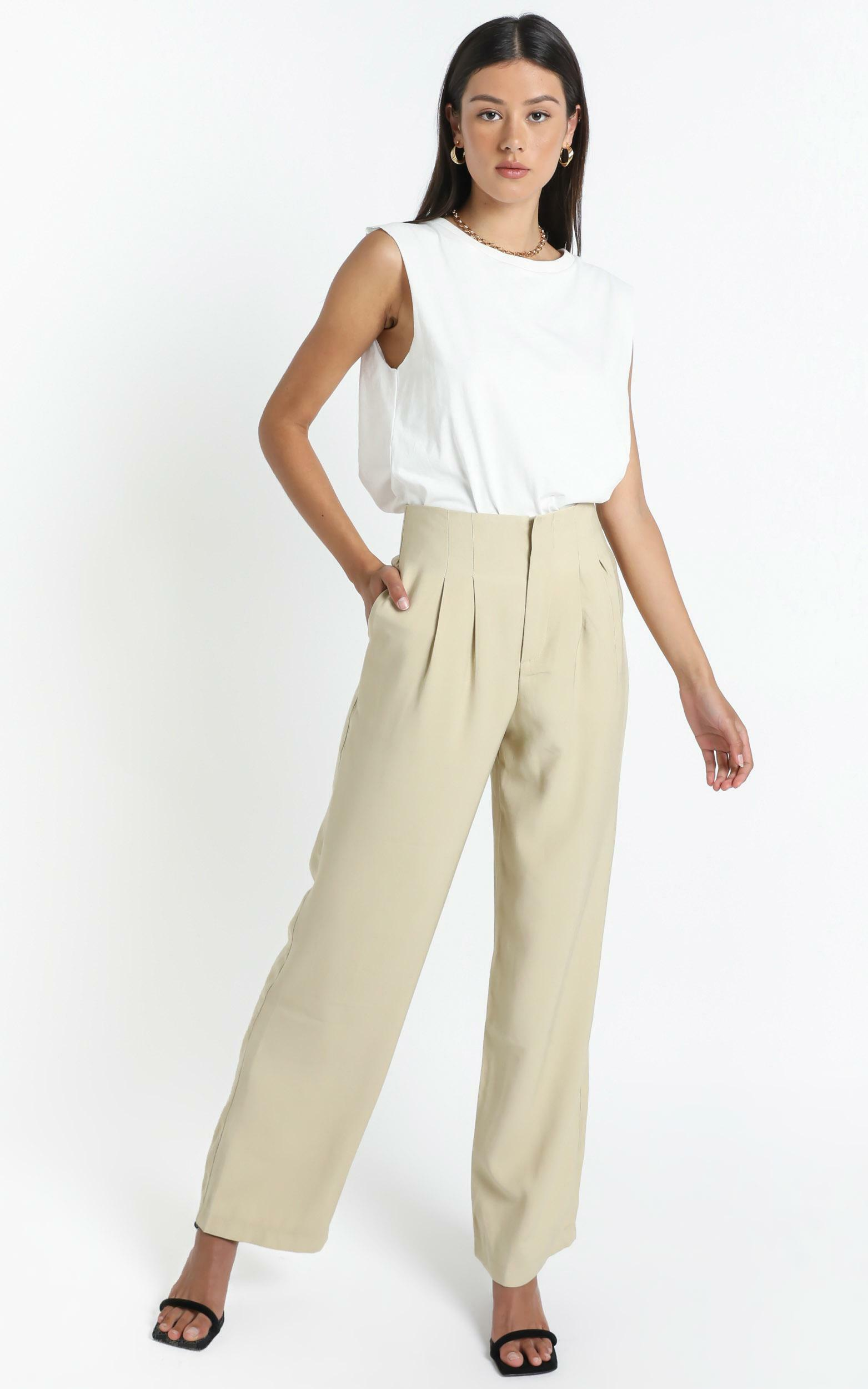 Soho Pants in Olive - 12 (L), Khaki, hi-res image number null