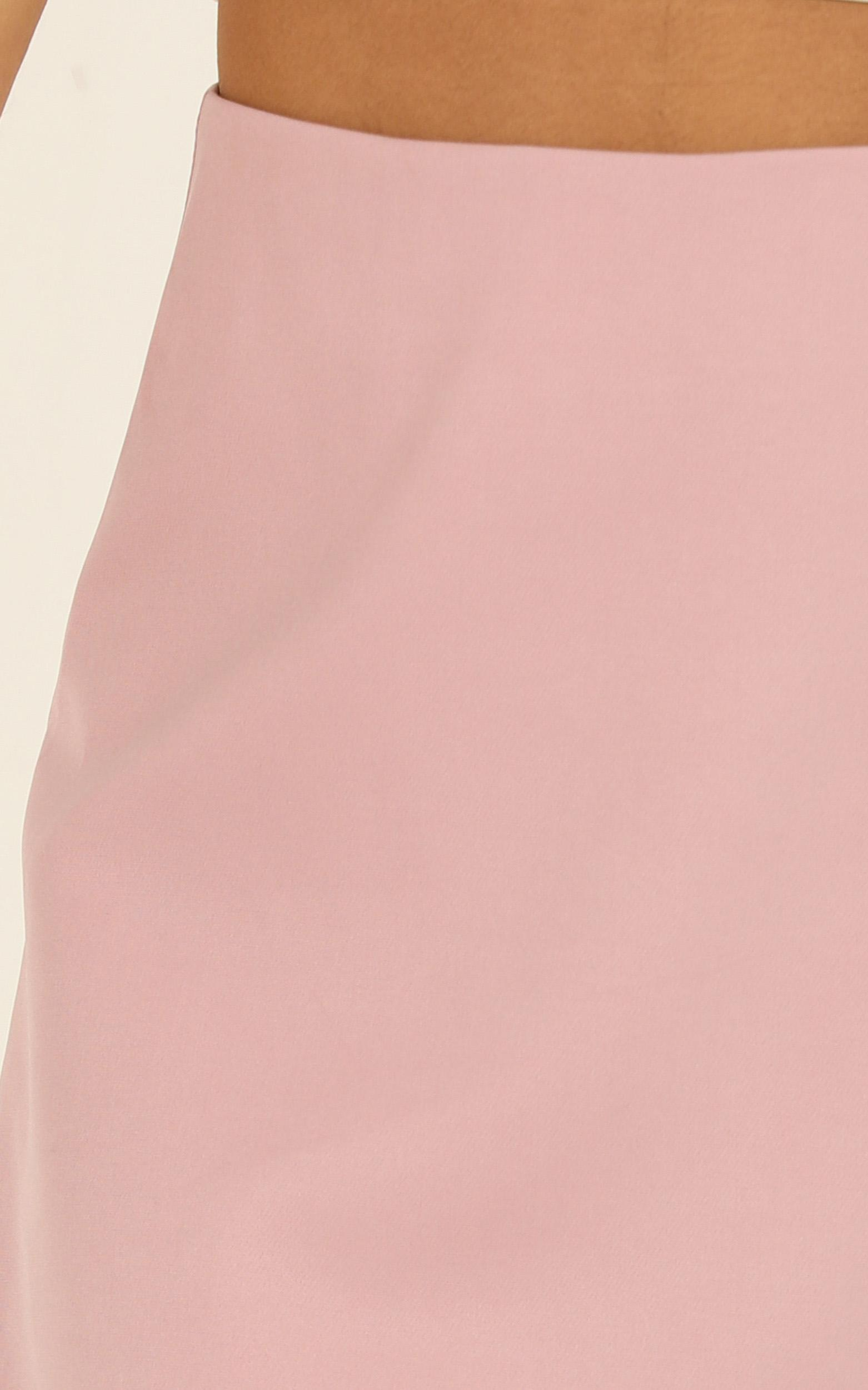 We Want It All skirt in  blush - 20 (XXXXL), Blush, hi-res image number null