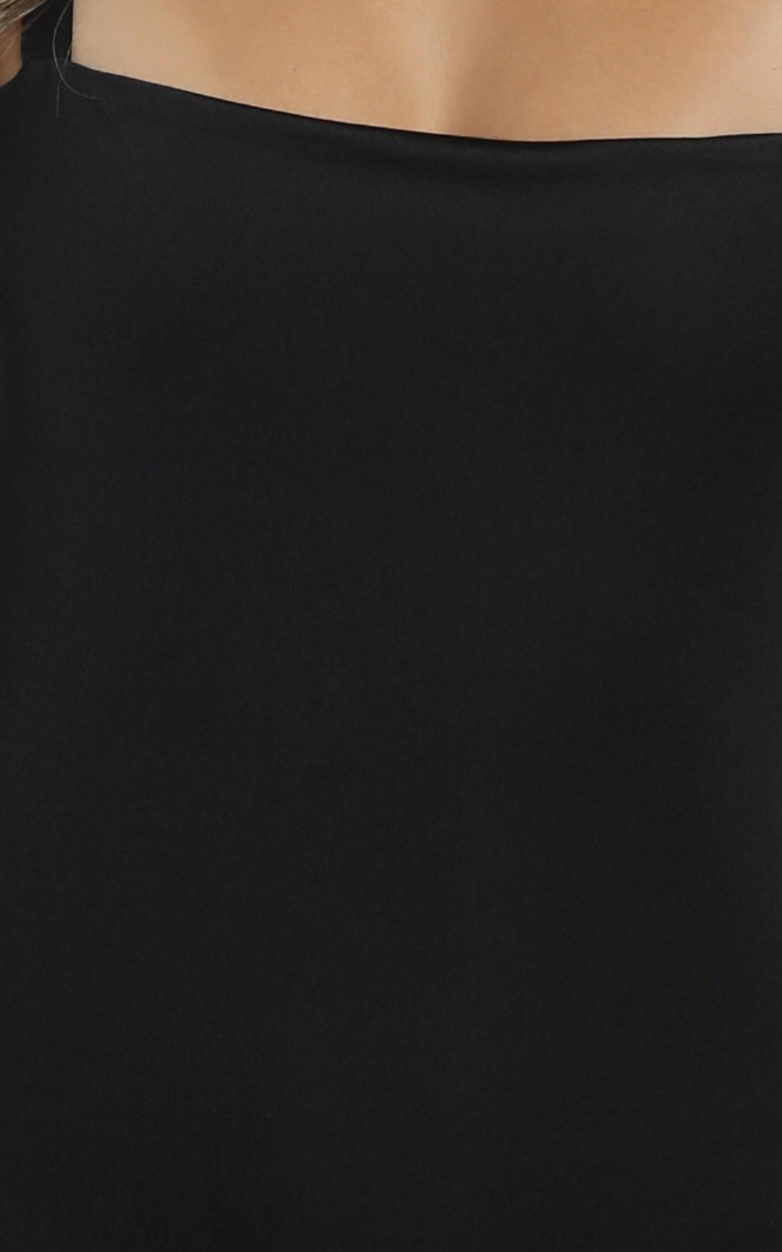 Crave Me bodysuit in black - 20 (XXXXL), Black, hi-res image number null