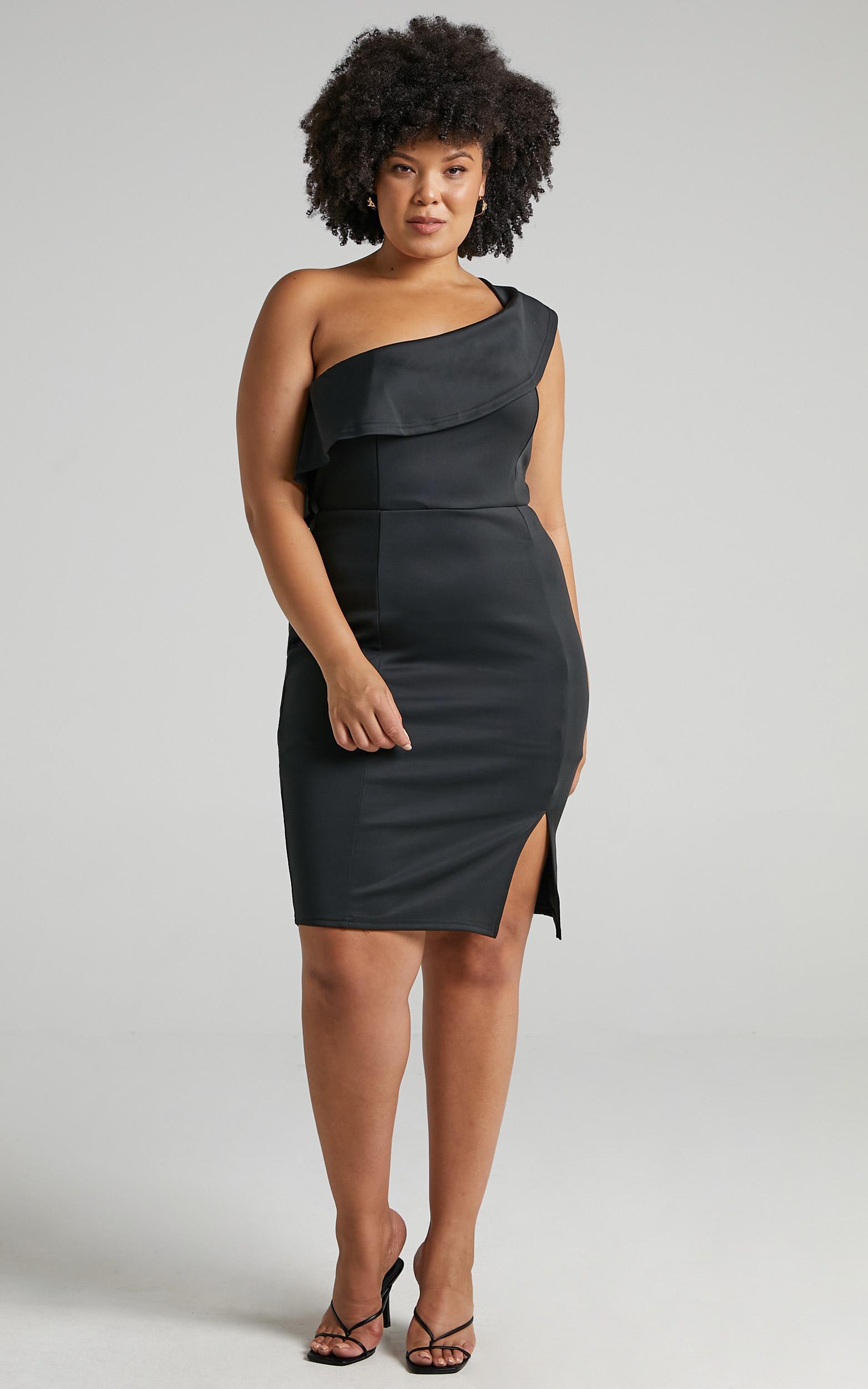 Seven Seas Dress In  Black - 4 (XXS), BLK1, hi-res image number null