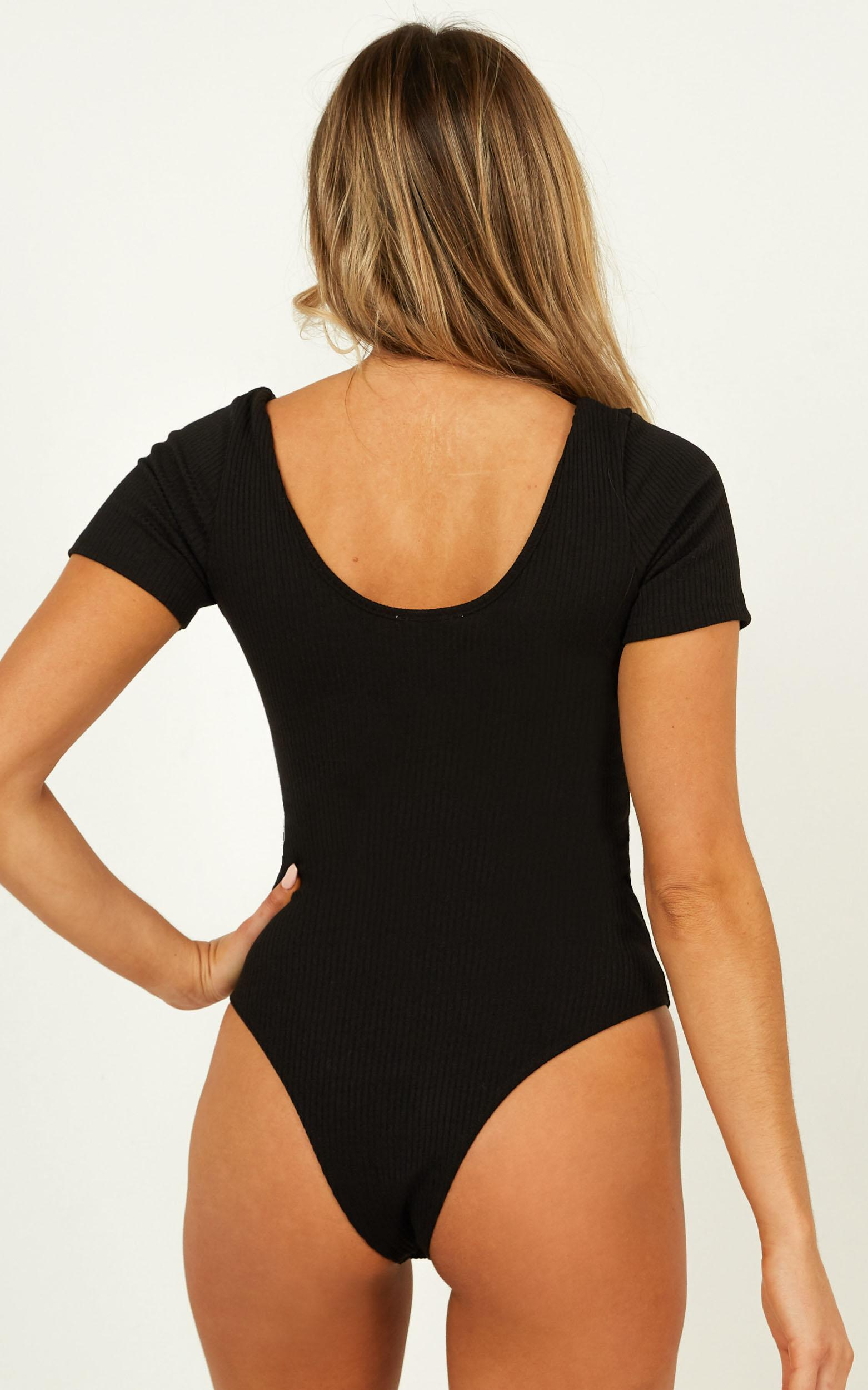 Night On The Town Bodysuit in black - 20 (XXXXL), Black, hi-res image number null