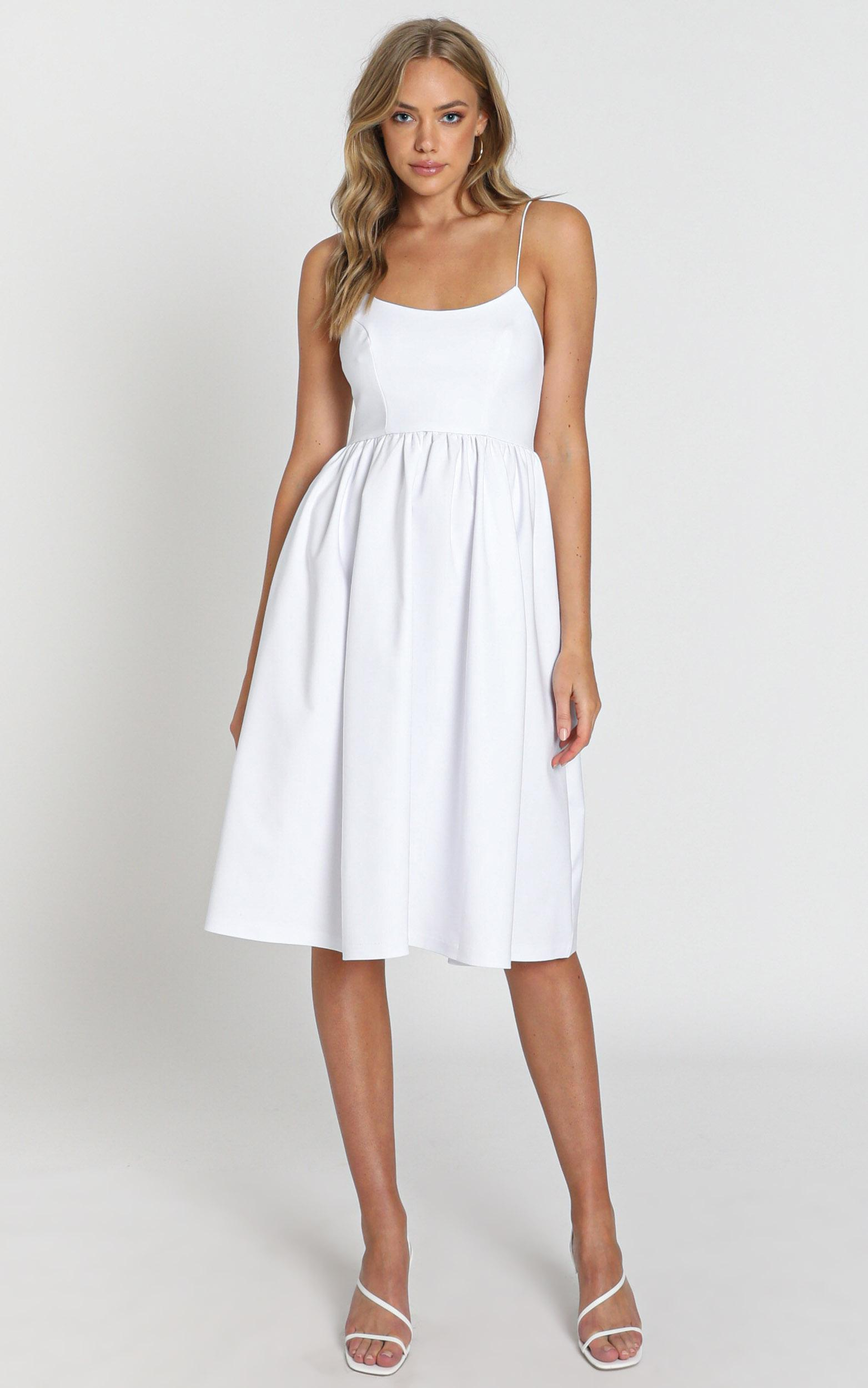 Wild Nights Dress in white - 6 (XS), White, hi-res image number null