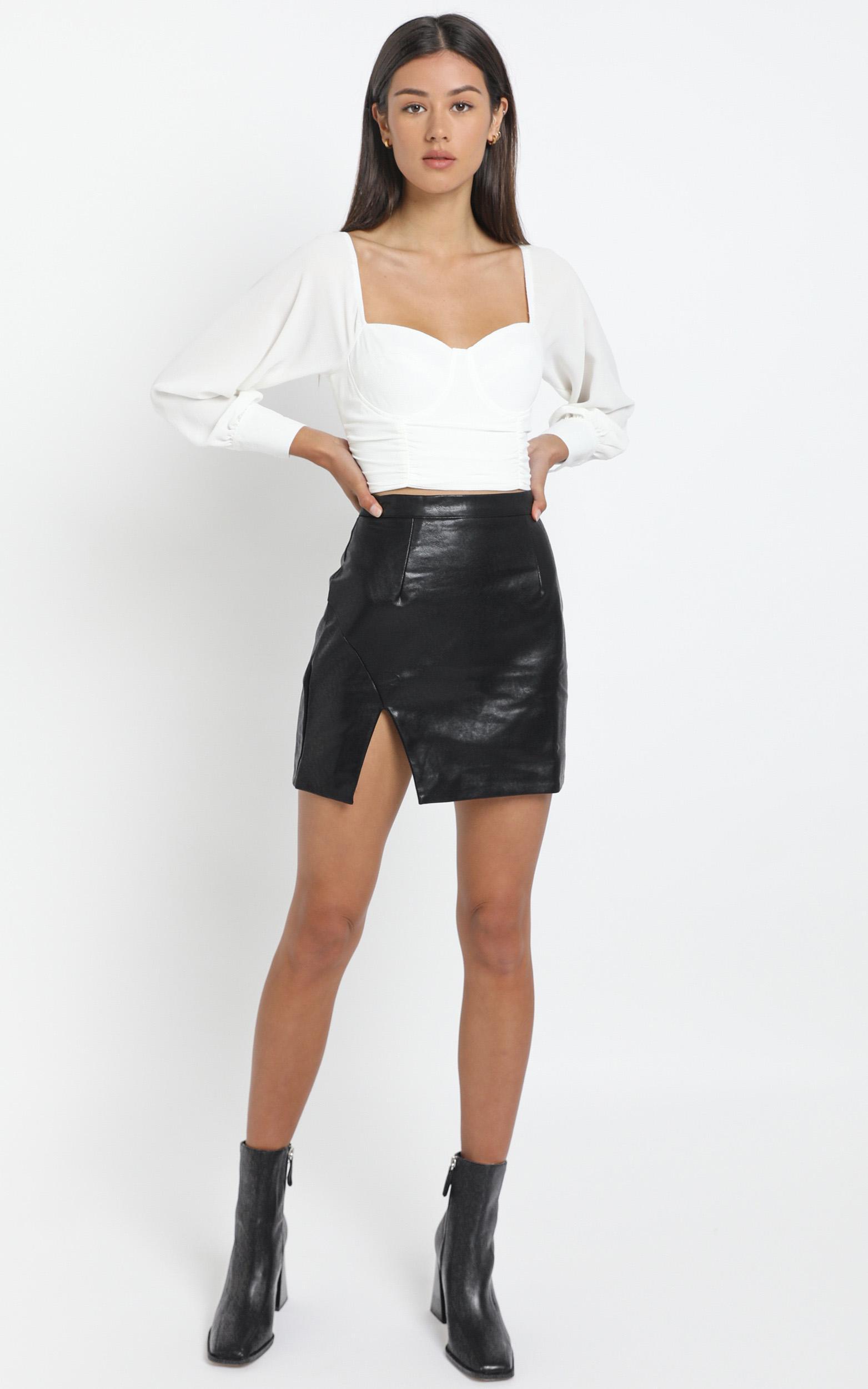 Persia Skirt in Black - 12 (L), Black, hi-res image number null