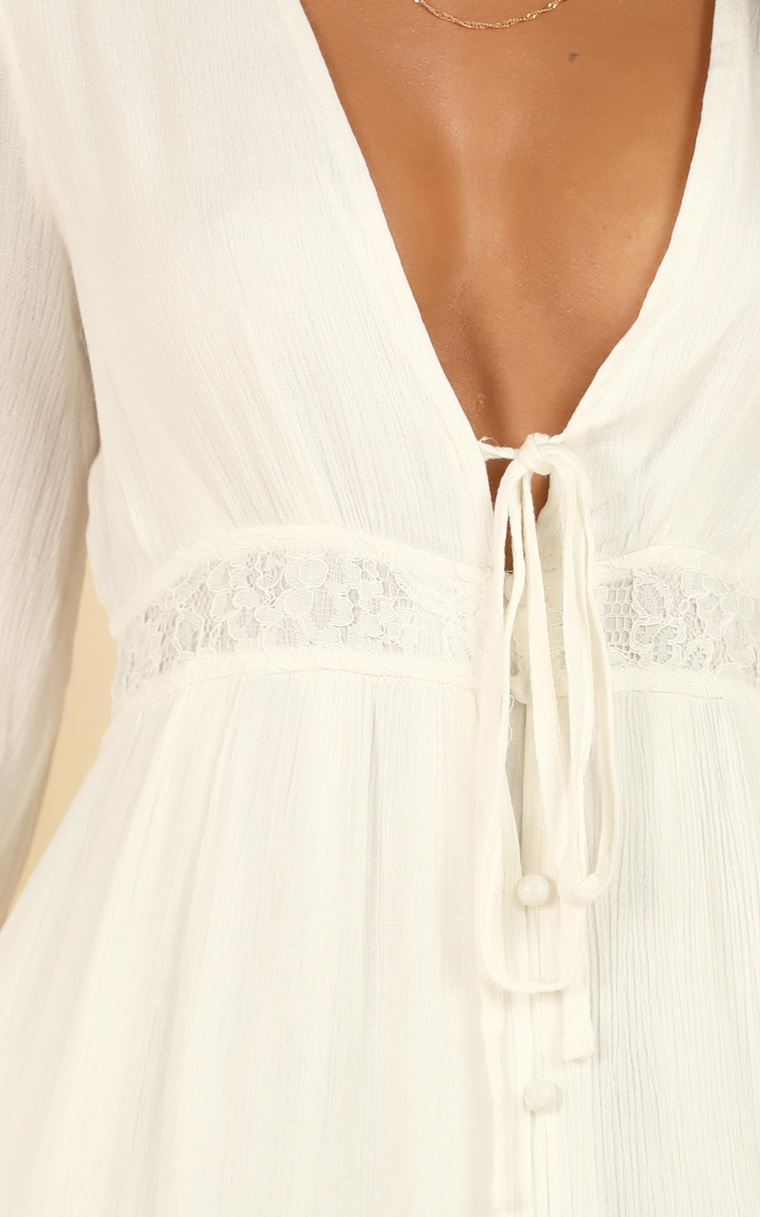 Smooth Sailer Dress in white - 20 (XXXXL), White, hi-res image number null
