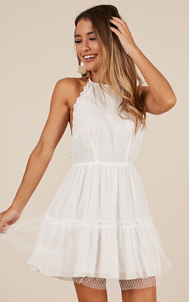 Passion Sweet dress in White - 20 (XXXXL), White, hi-res image number null