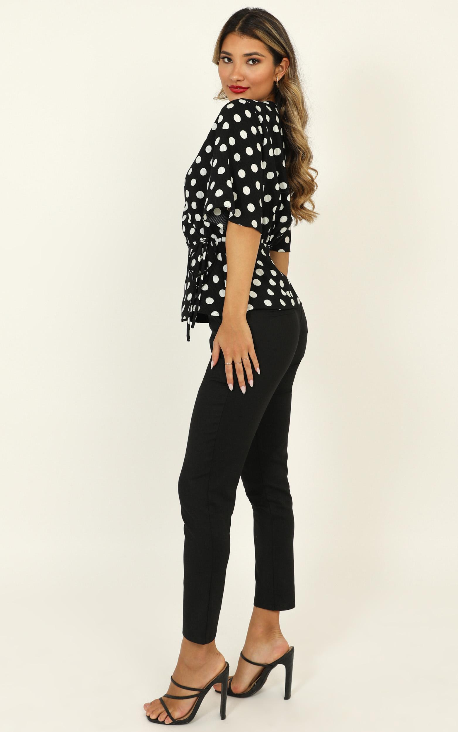 Born Leader Top in black spot - 20 (XXXXL), BLK1, hi-res image number null