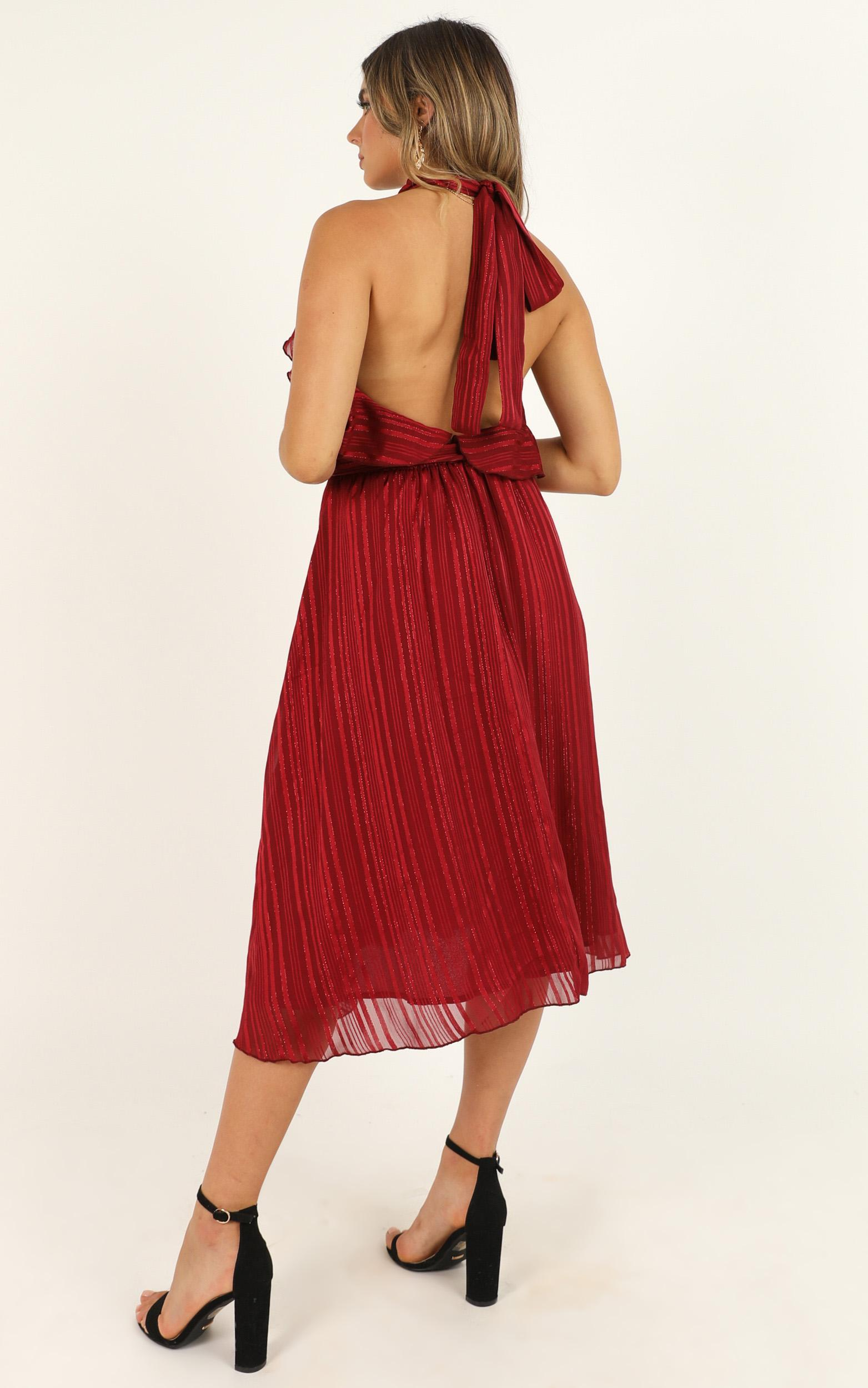 How Can I Breathe Dress in wine - 14 (XL), Wine, hi-res image number null