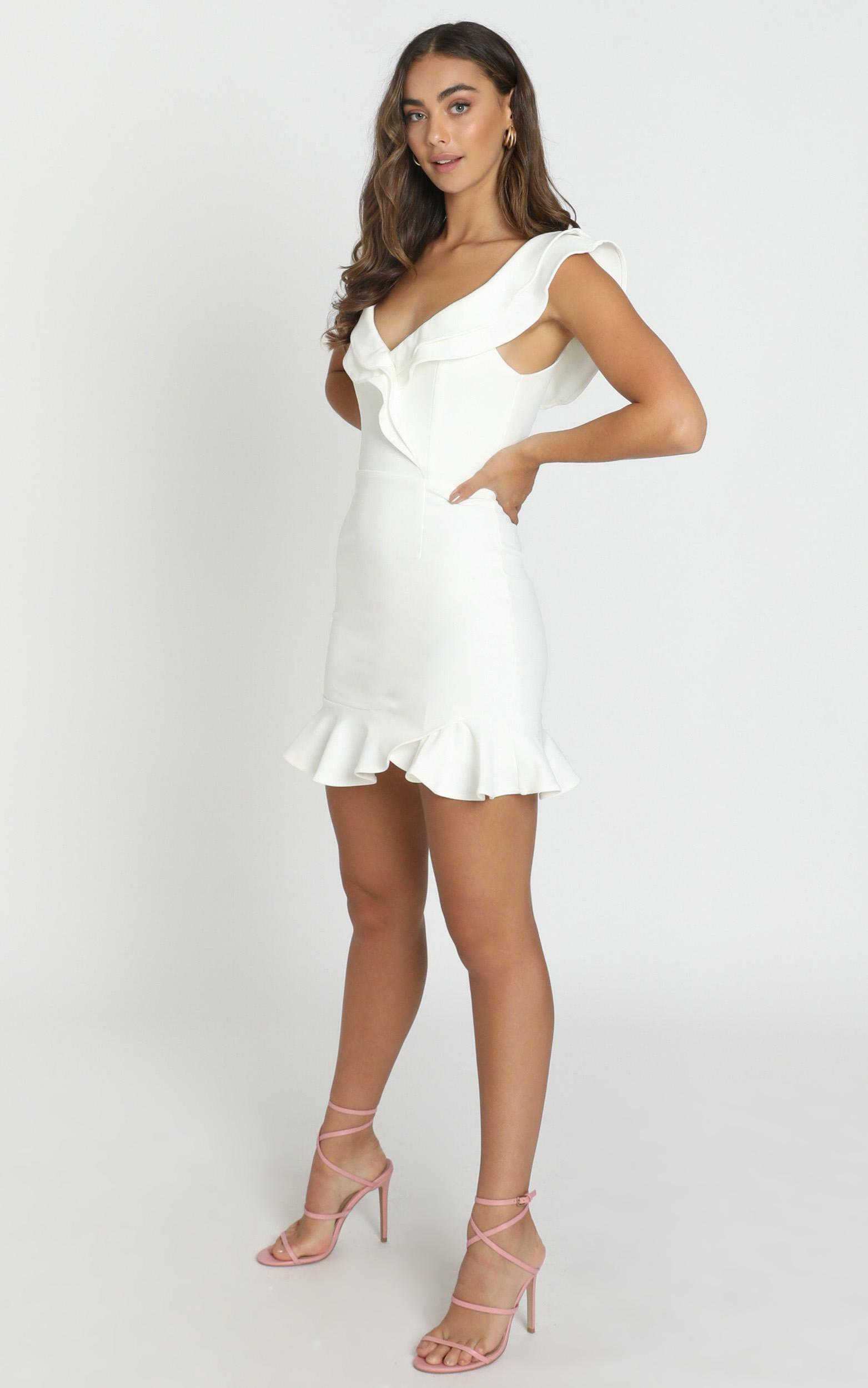 Alessandra Dress in white - 6 (XS), White, hi-res image number null