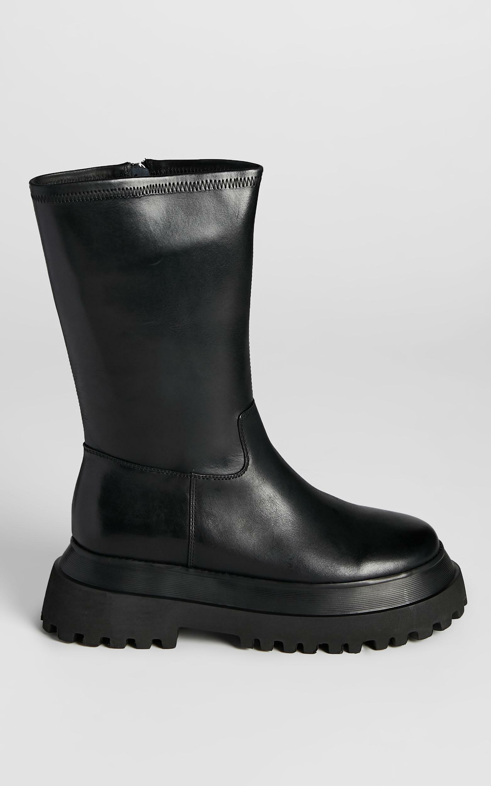 Alias Mae - Nixon Boots in Black Burnished - 5.5, BLK2, hi-res image number null