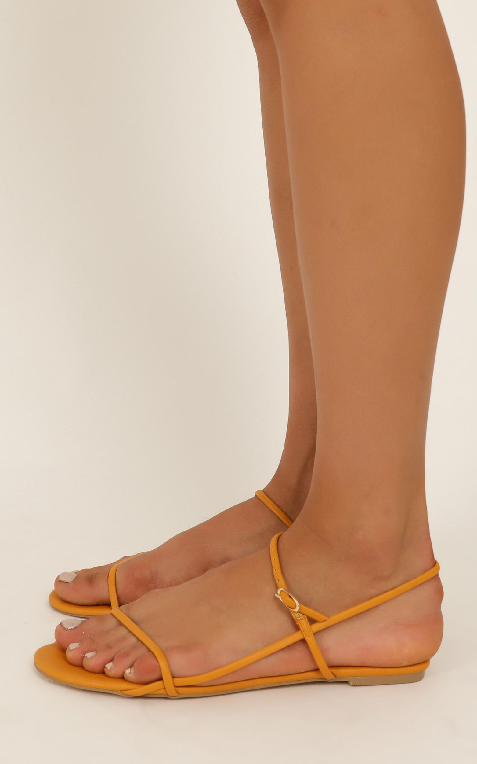 Billini - Patchouli sandals in spice - 10, Orange, hi-res image number null