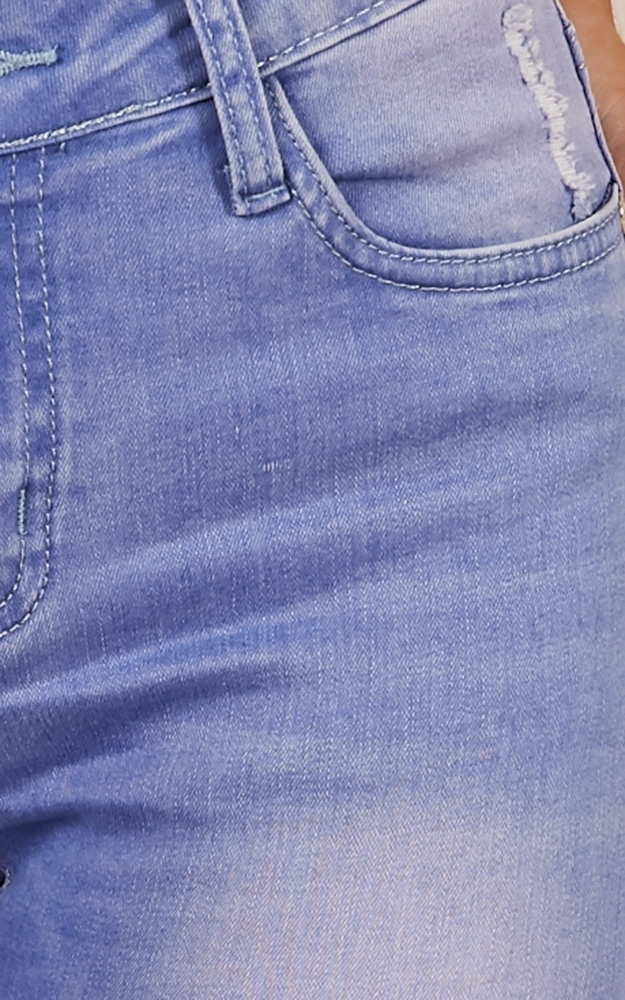 Courts skinny jeans in mid wash denim - 14 (XL), BLU1, hi-res image number null