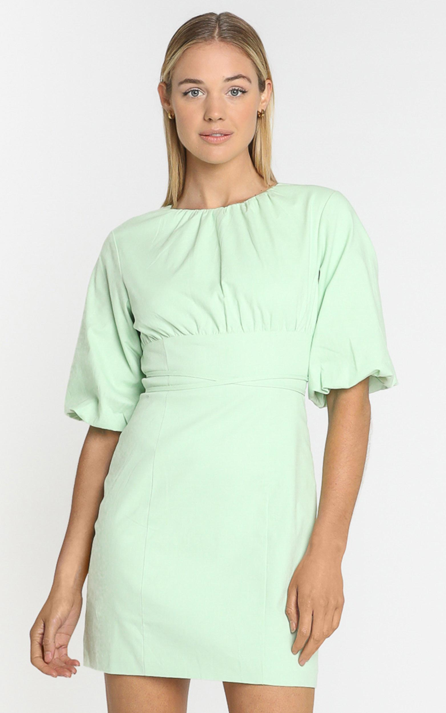 Daydreaming dress in mint - 6 (XS), Green, hi-res image number null