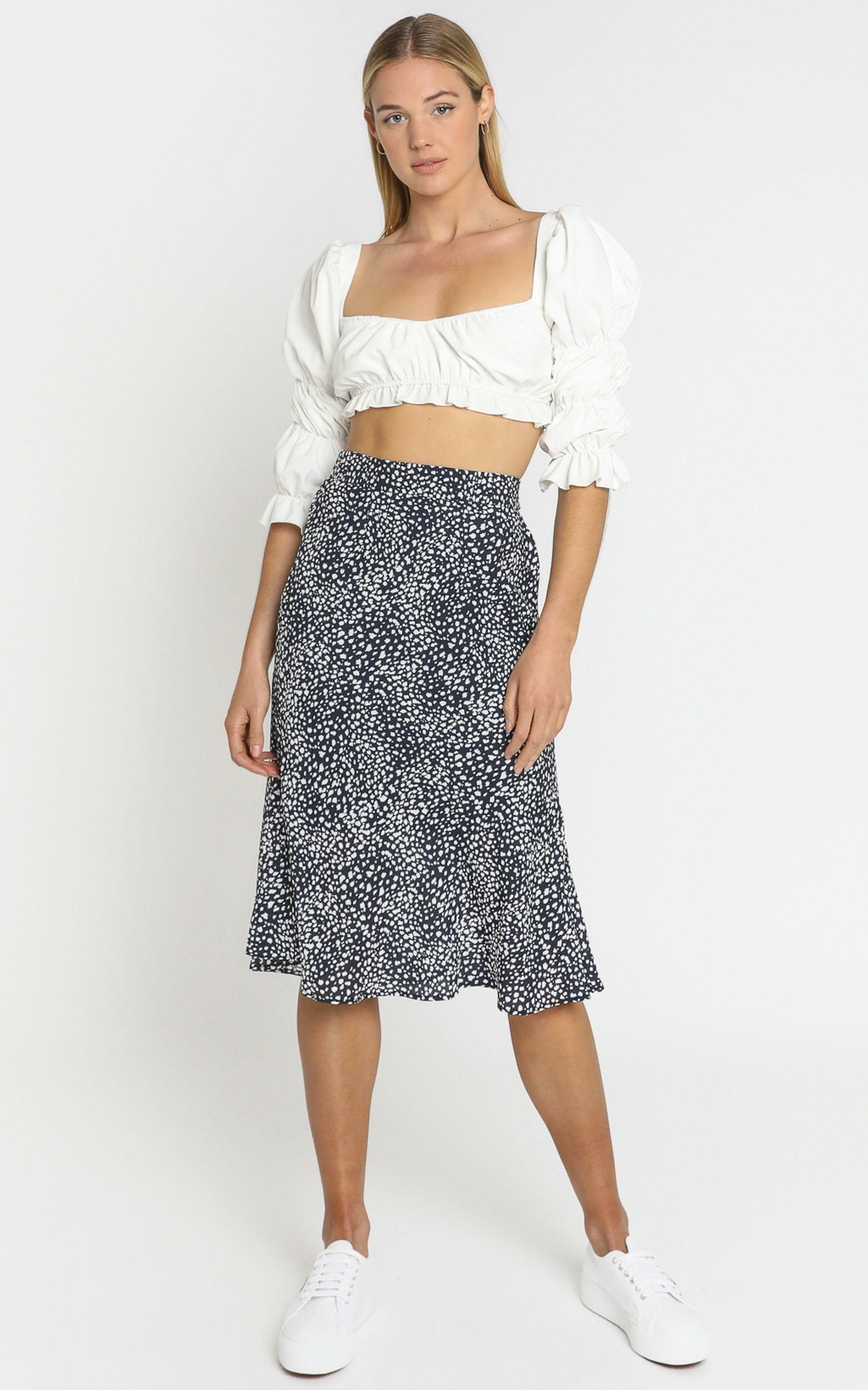 Alegra Skirt in Navy - 6 (XS), NVY1, hi-res image number null
