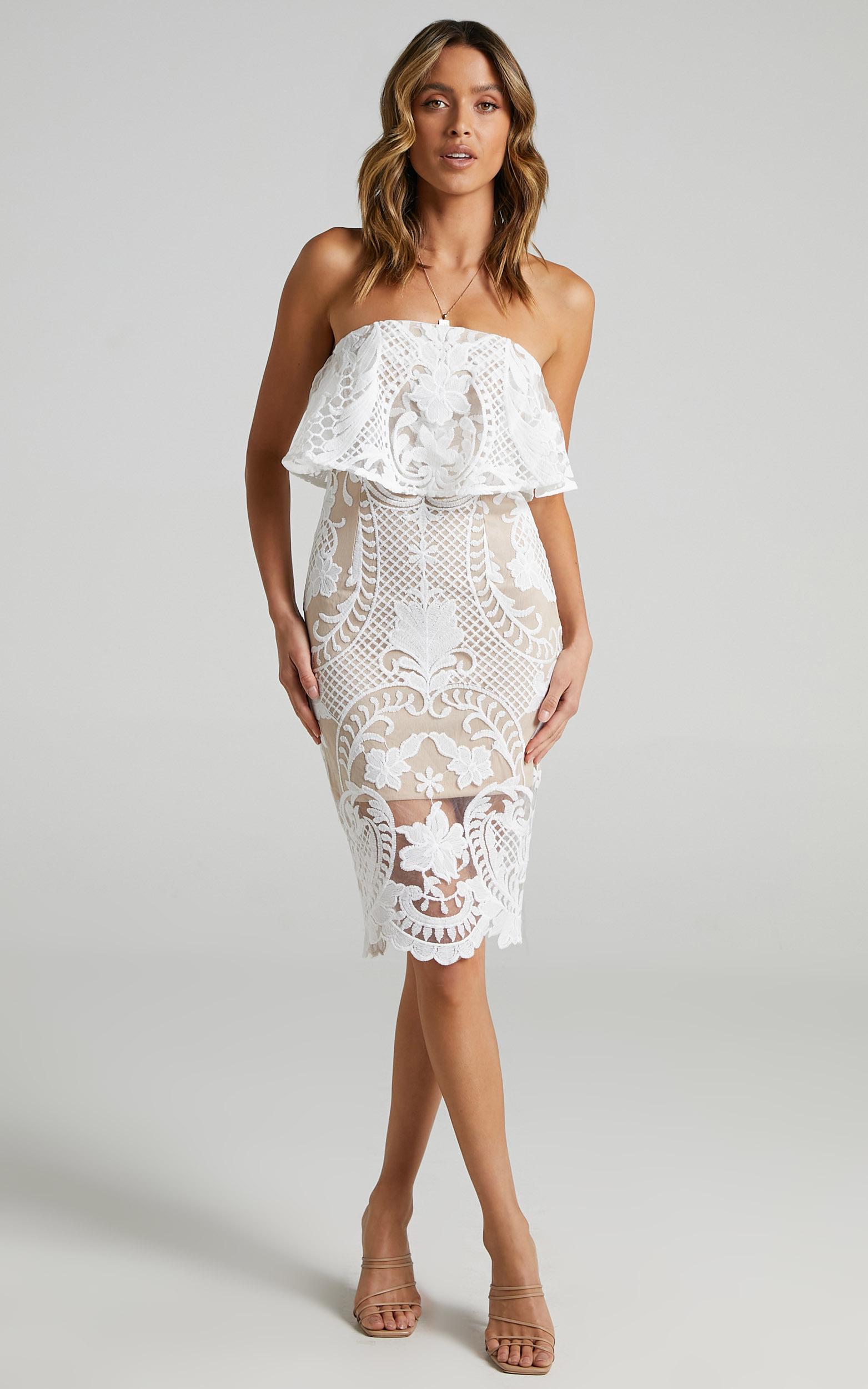 Senorita Dress in White Lace - 06, WHT1, hi-res image number null
