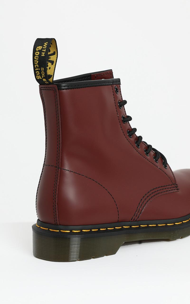 Dr. Martens - 1460 8 Eye Boot in Cherry Smooth - 5, Red, hi-res image number null