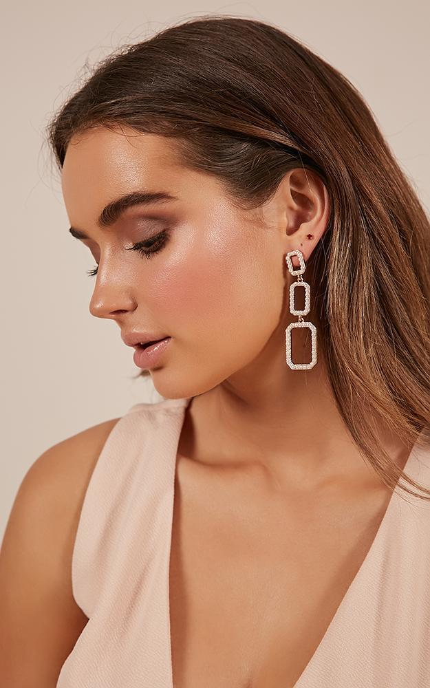 Violet City earrings in gold, , hi-res image number null