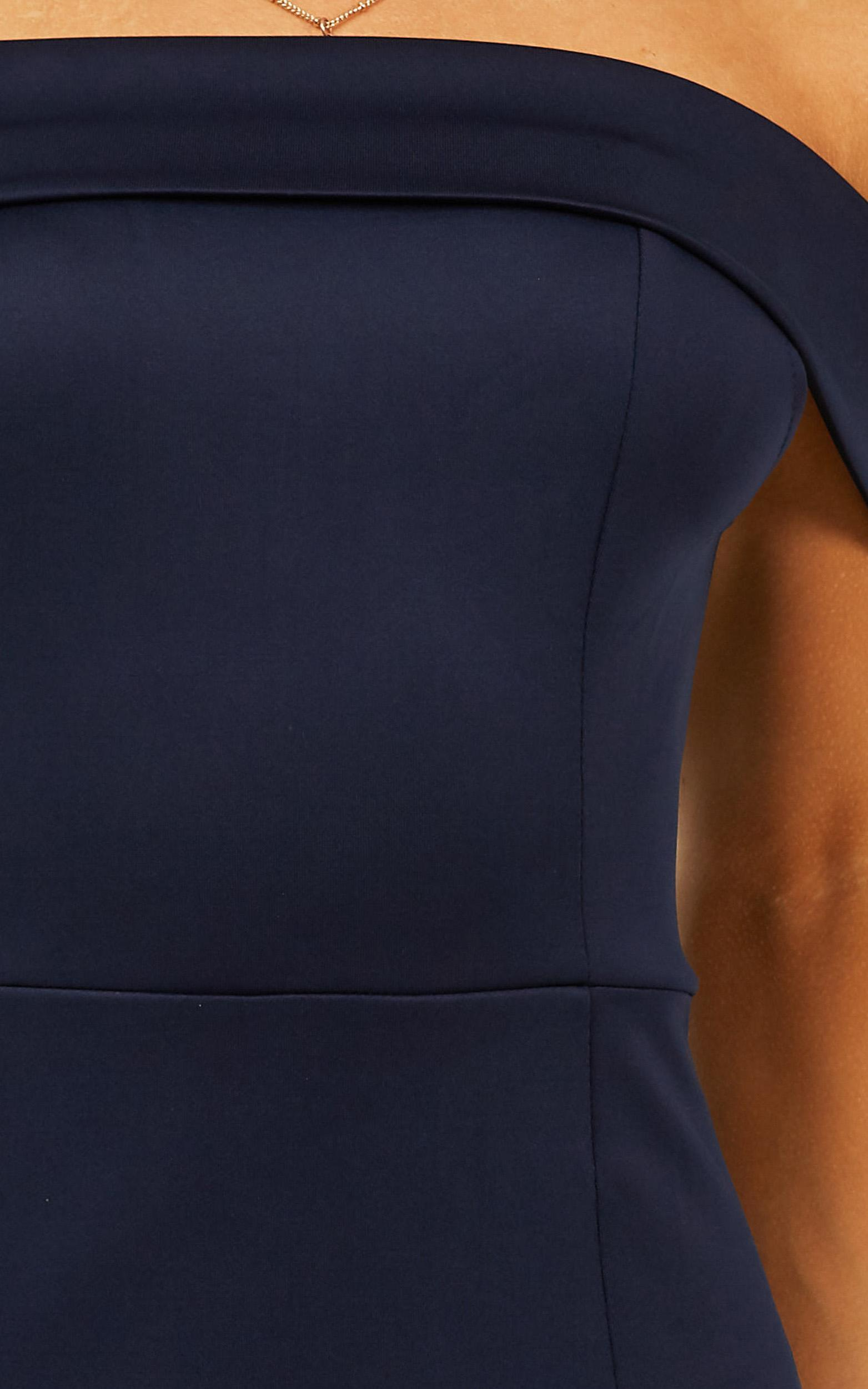 We Got This Feeling Dress in navy - 20 (XXXXL), Navy, hi-res image number null