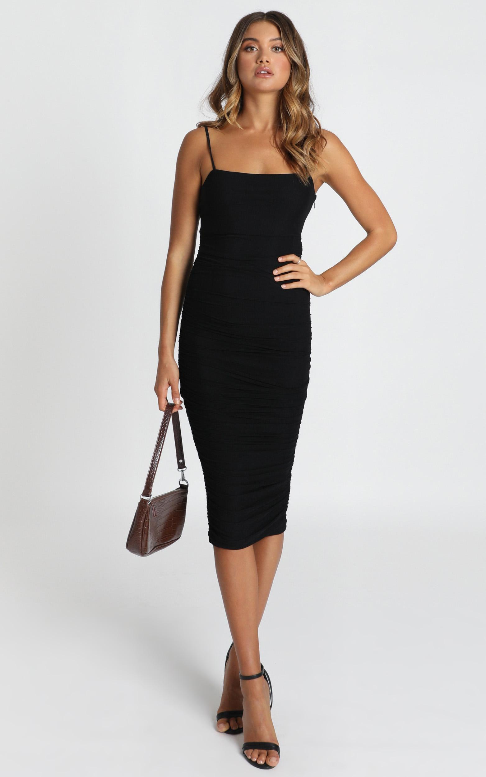 Coming For You Dress in black - 20 (XXXXL), Black, hi-res image number null