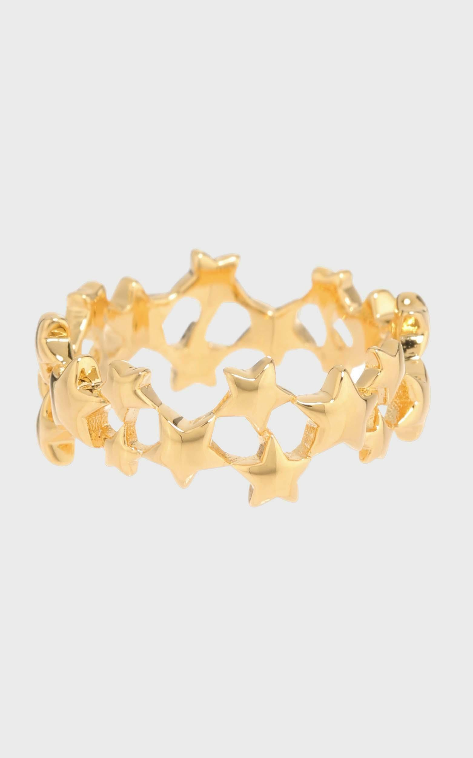 Luv AJ - Stardust Band in Gold - 6, Gold, hi-res image number null