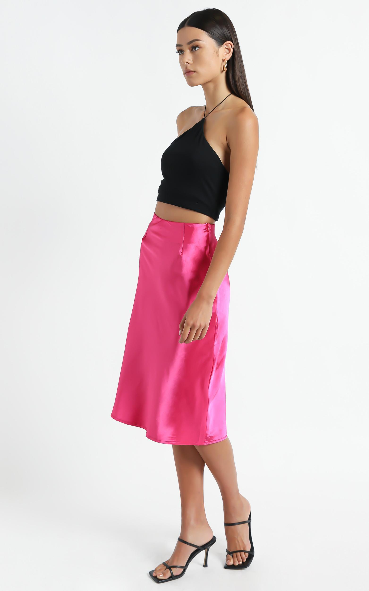 Creating Art Skirt in Hot Pink - 6 (XS), PNK11, hi-res image number null