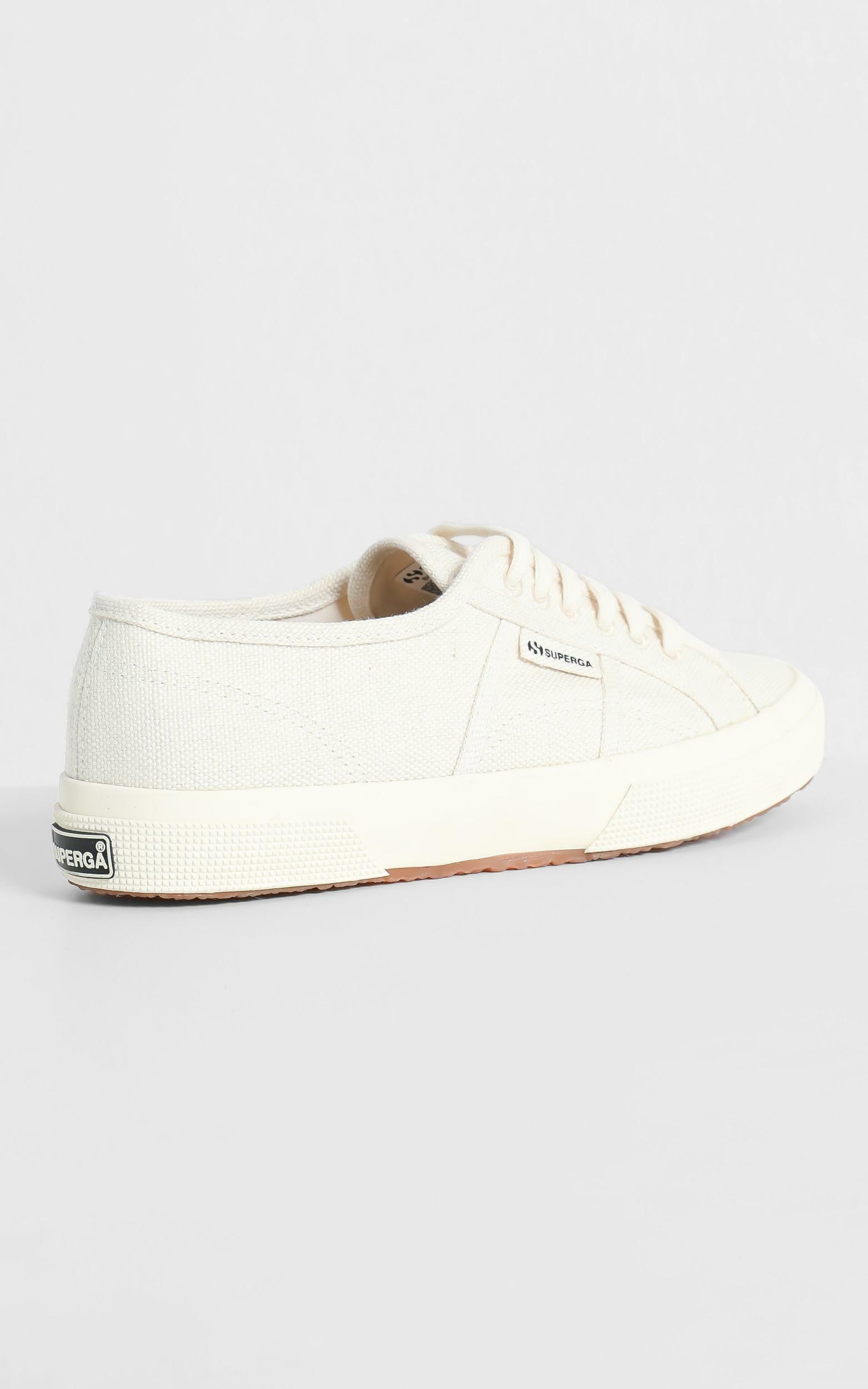 Superga - 2750 Organic Cotton Sneaker in natural beige - 5, Beige, hi-res image number null