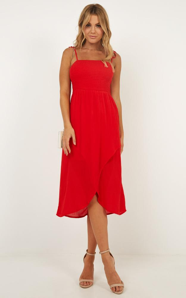 Swinging Days Dress in red - 12 (L), Red, hi-res image number null
