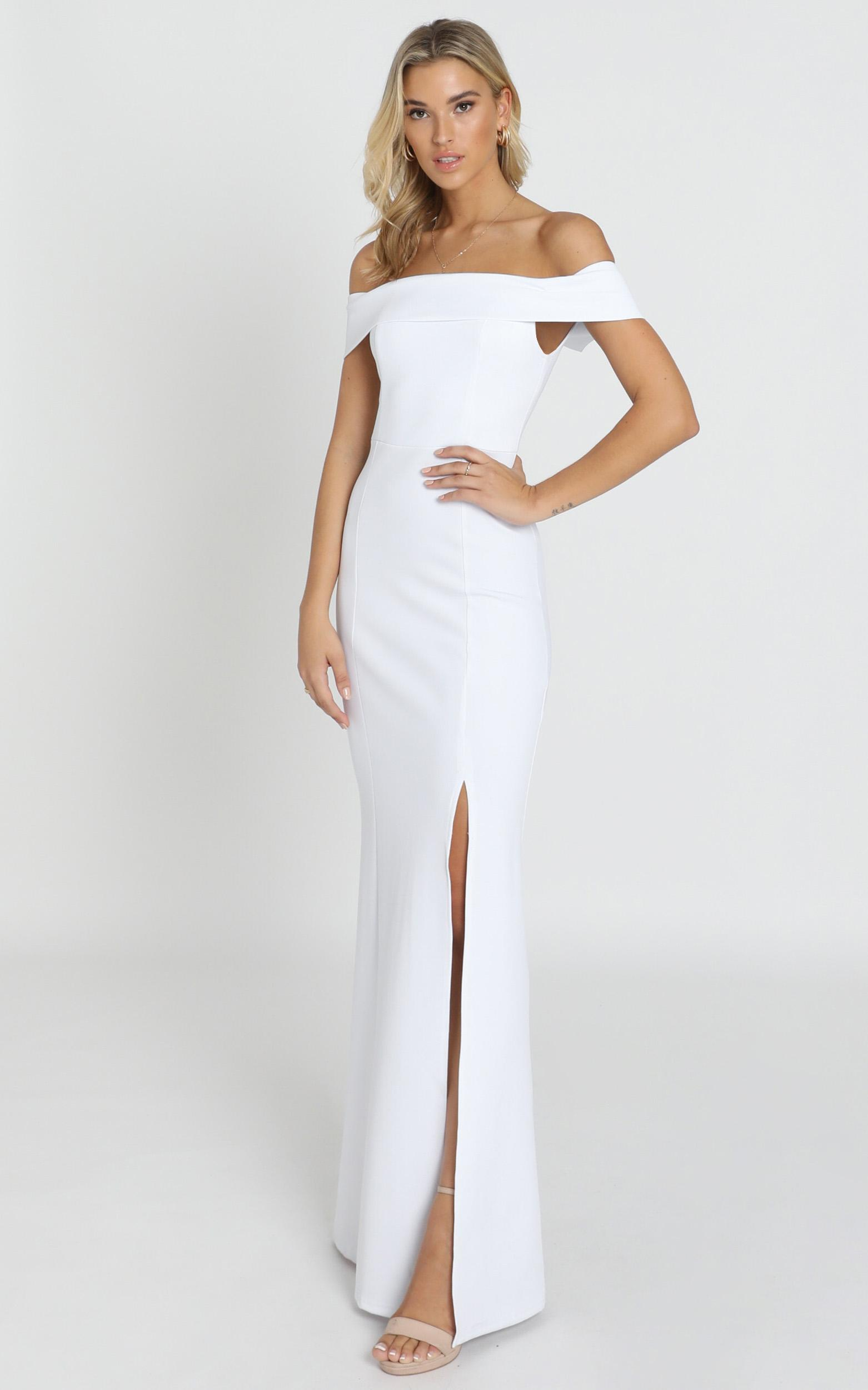 We Got This Feeling Dress in white - 14 (XL), White, hi-res image number null