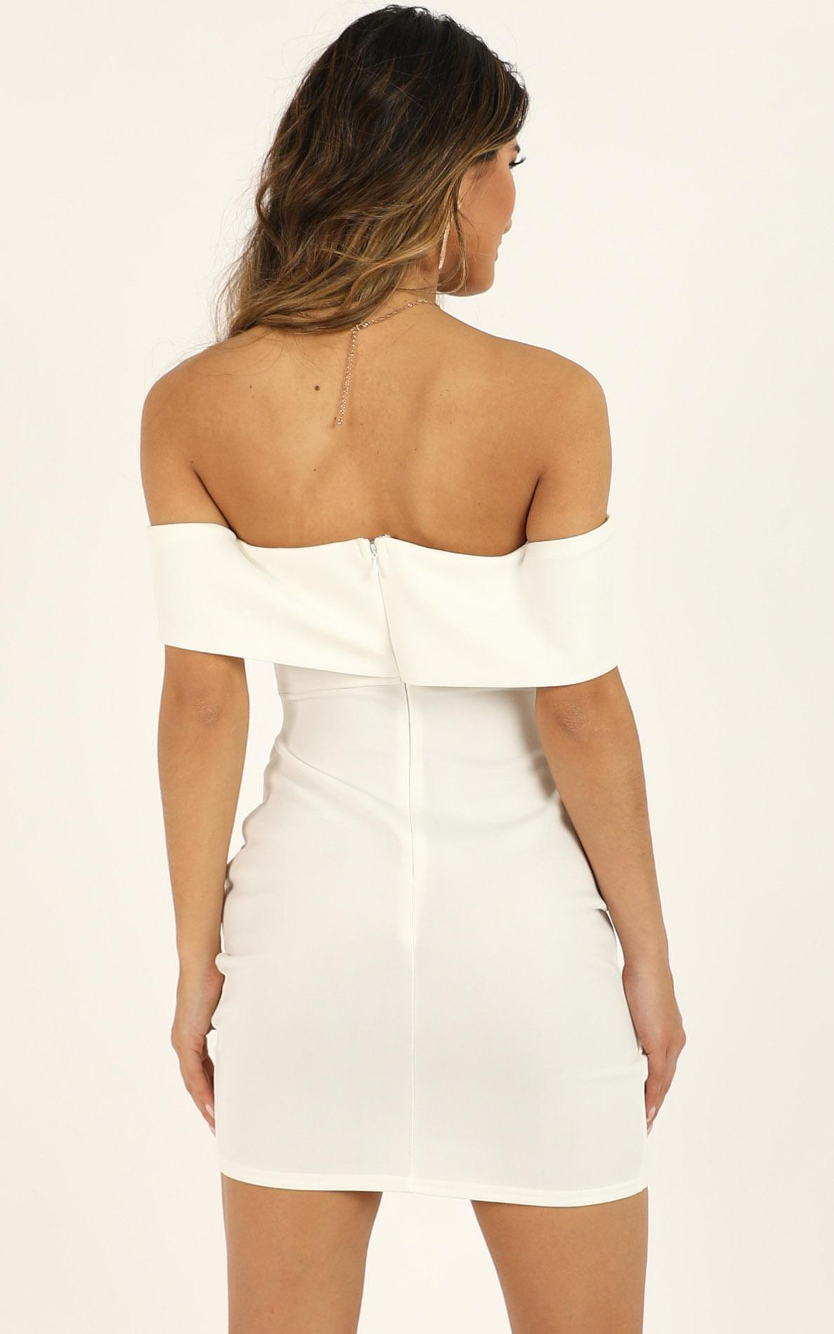 Look To The Future dress in white - 10 (M), White, hi-res image number null