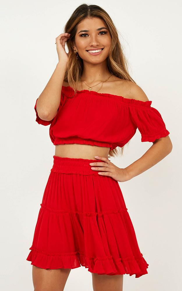 Nobody But You Two Piece Set in red - 20 (XXXXL), Red, hi-res image number null