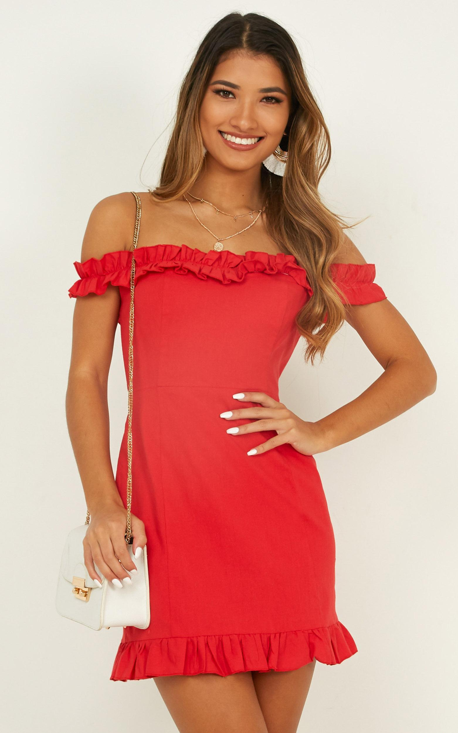 Days of Summer Dress in Red - 06, RED3, hi-res image number null