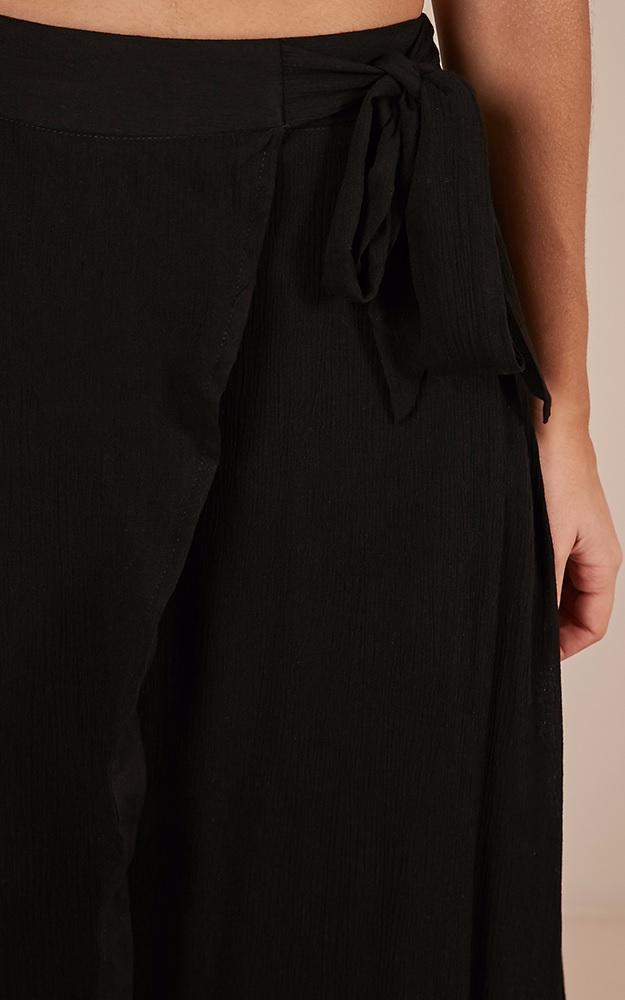 Break A Leg Maxi Skirt in Black - 6 (XS), BLK1, hi-res image number null