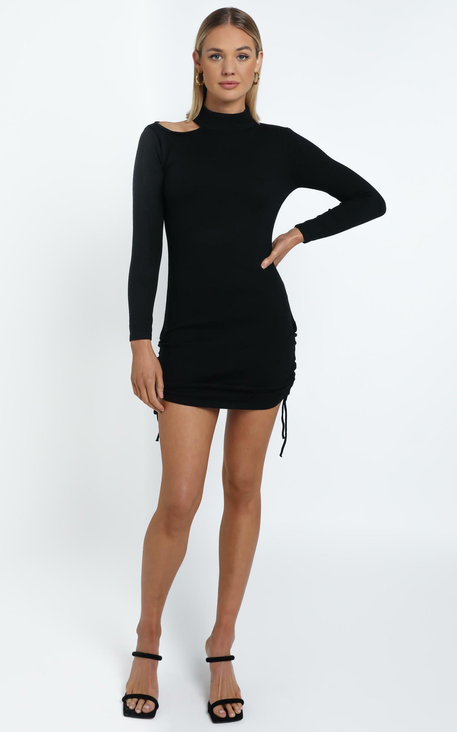 Samson Dress in Black - 12 (L), BLK1, hi-res image number null