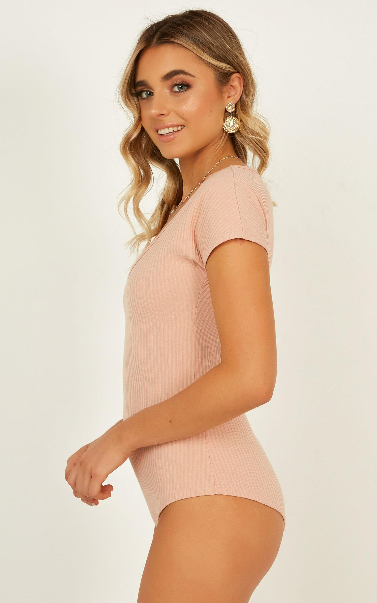 Hes Next To Me Bodysuit In blush - 12 (L), Blush, hi-res image number null