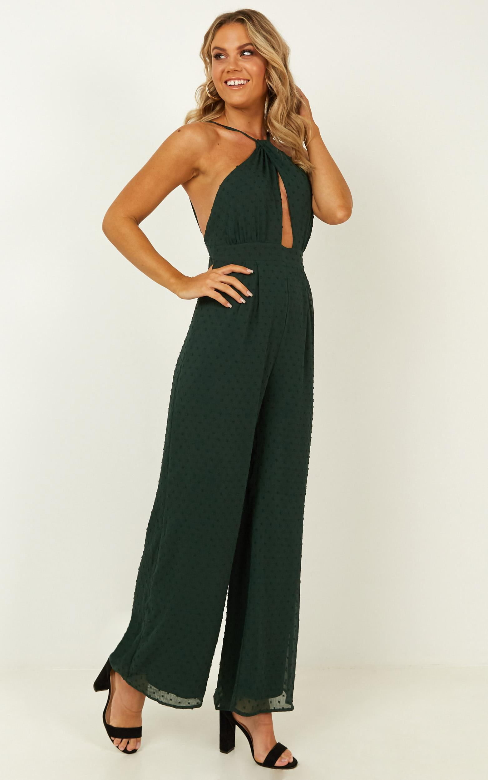 A Star Jumpsuit in emerald - 20 (XXXXL), Green, hi-res image number null