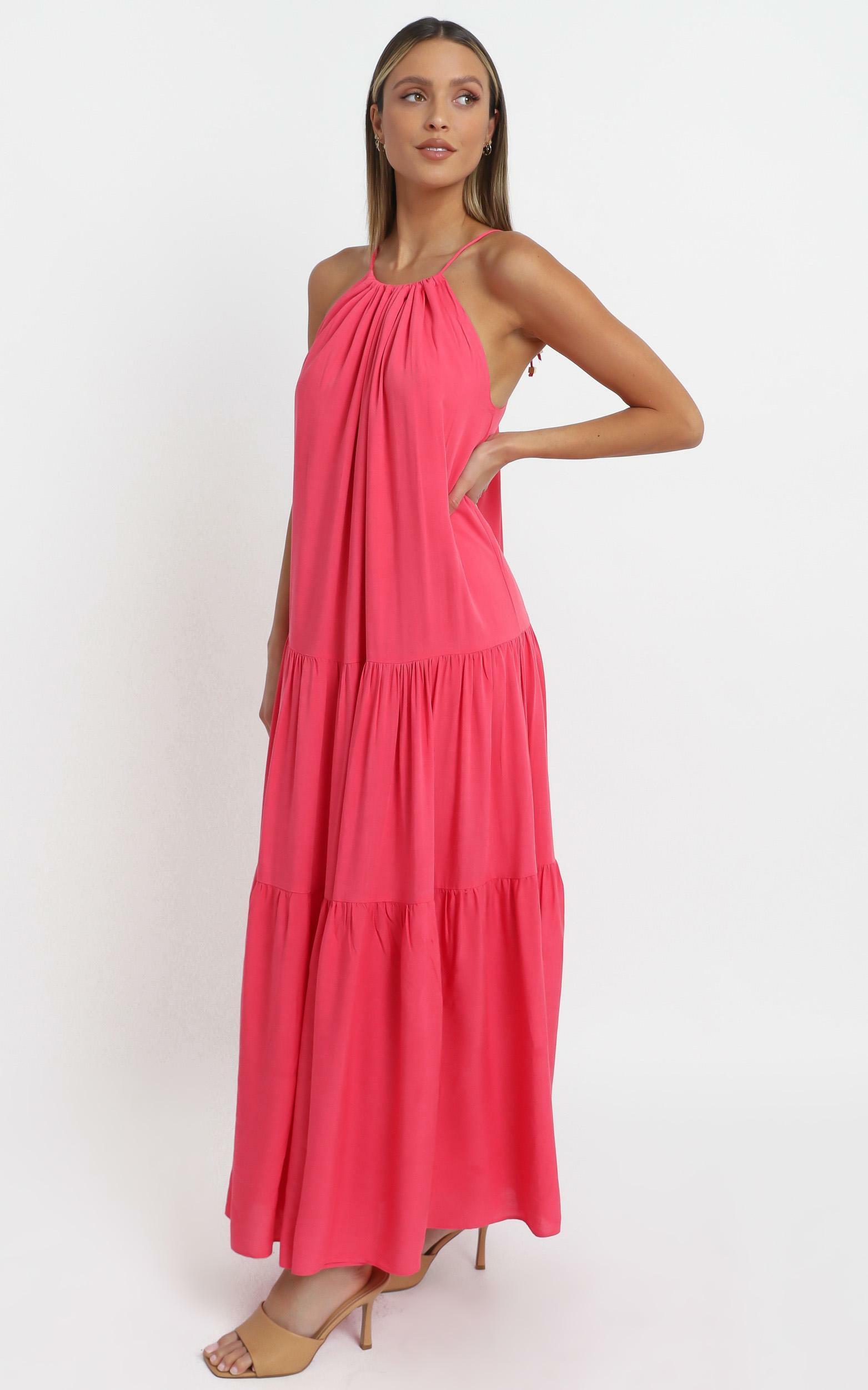 Pyper Dress in Hot Pink - 14 (XL), Pink, hi-res image number null