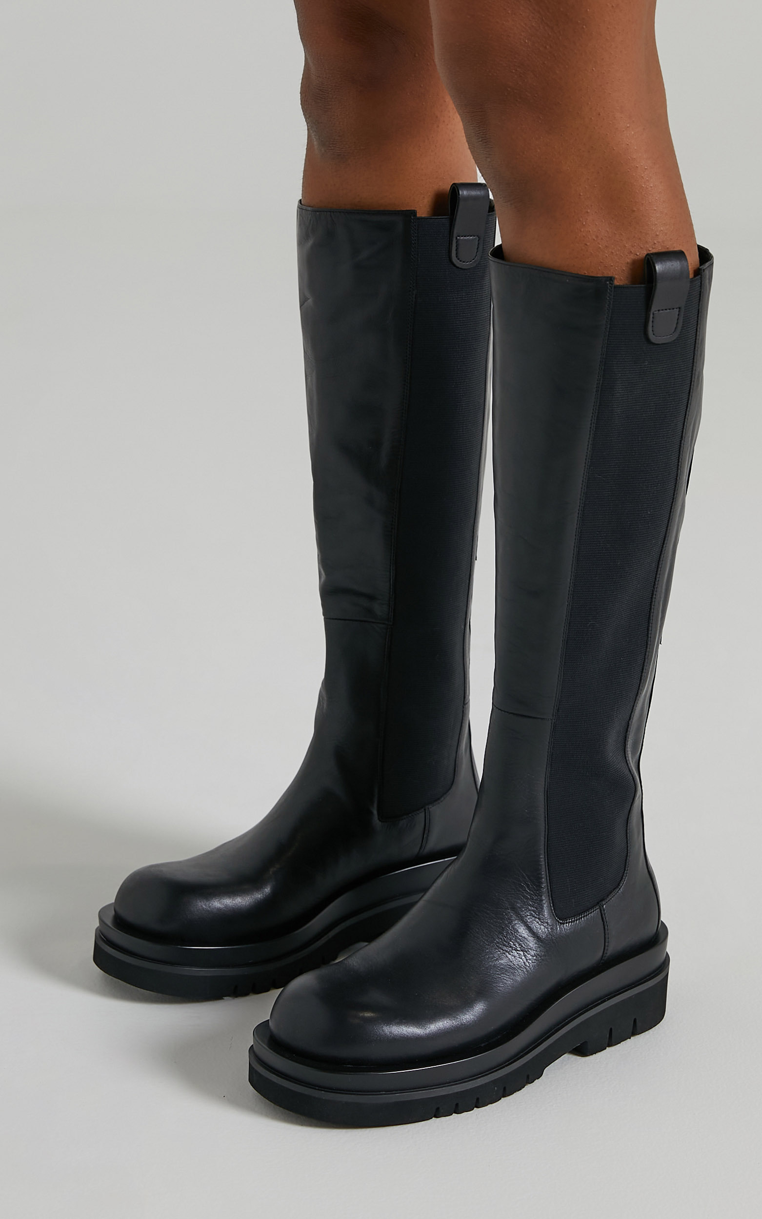 Tony Bianco - Becky Boots in Black Venice - 06, BLK1, hi-res image number null