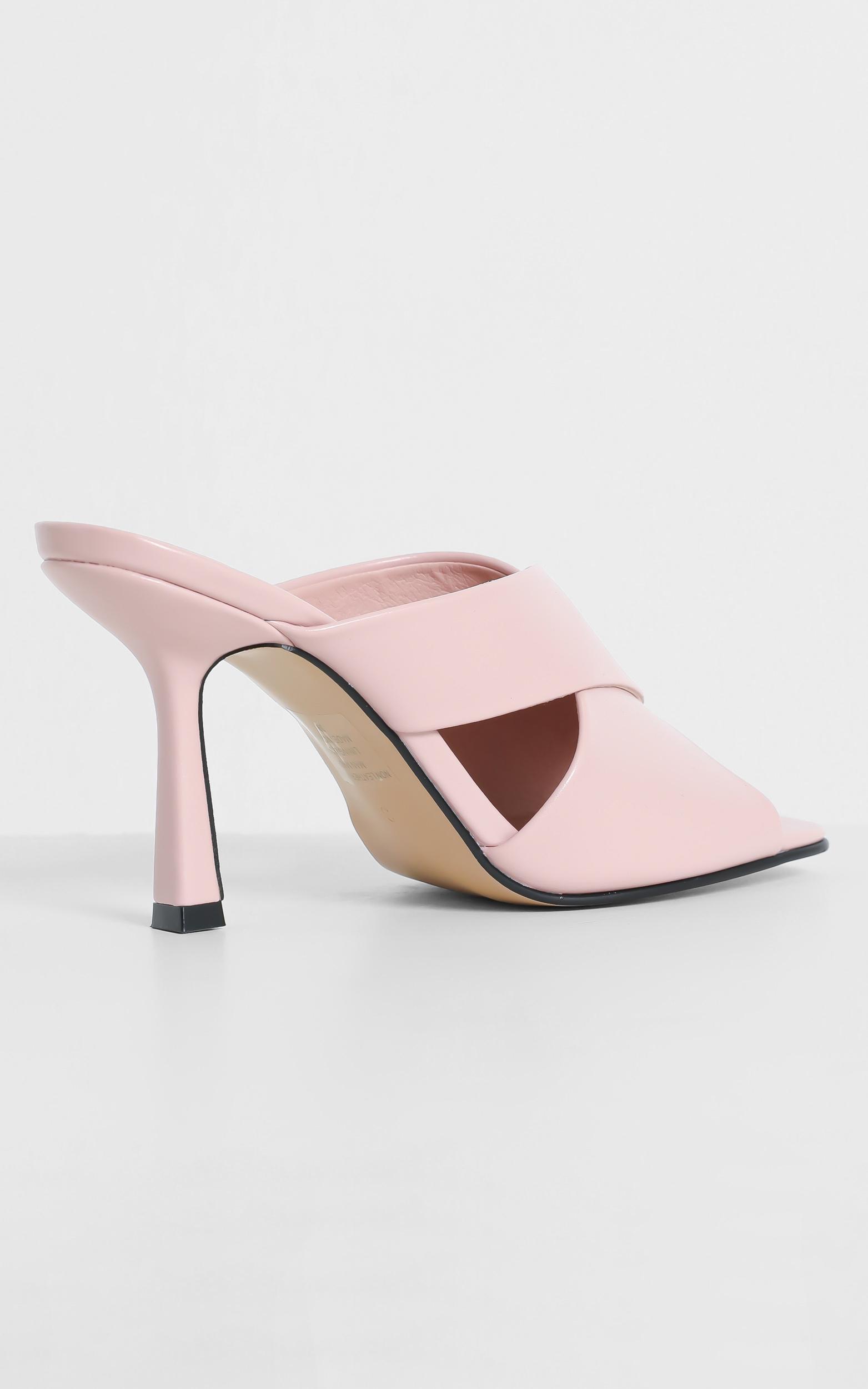 Verali - Luwow Heels in Pink Smooth - 5, Pink, hi-res image number null