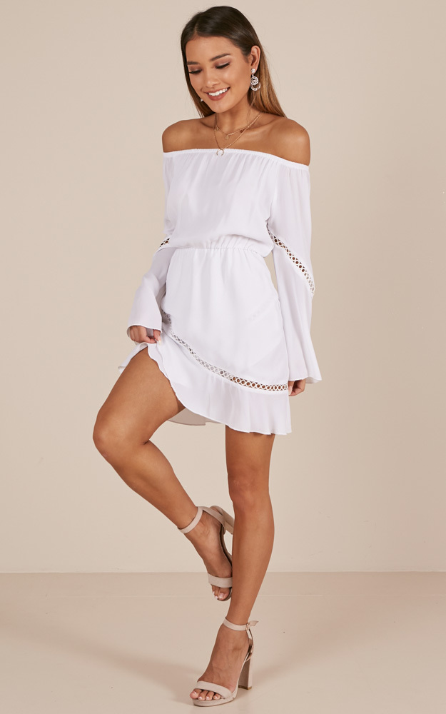 A Touch Of Twinkle dress in white - 4 (XXS), White, hi-res image number null