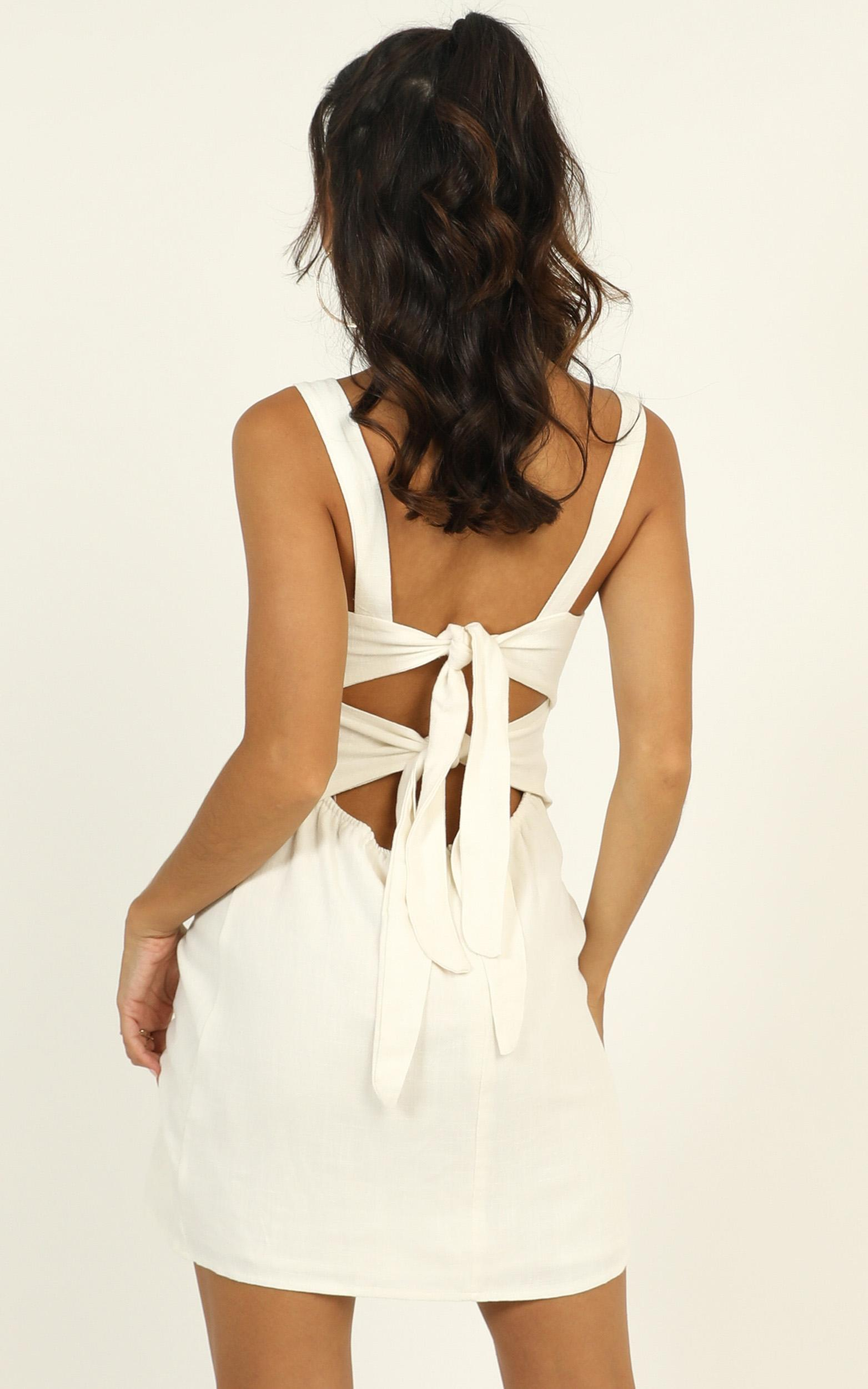 Fast Progress dress in white - 16 (XXL), White, hi-res image number null