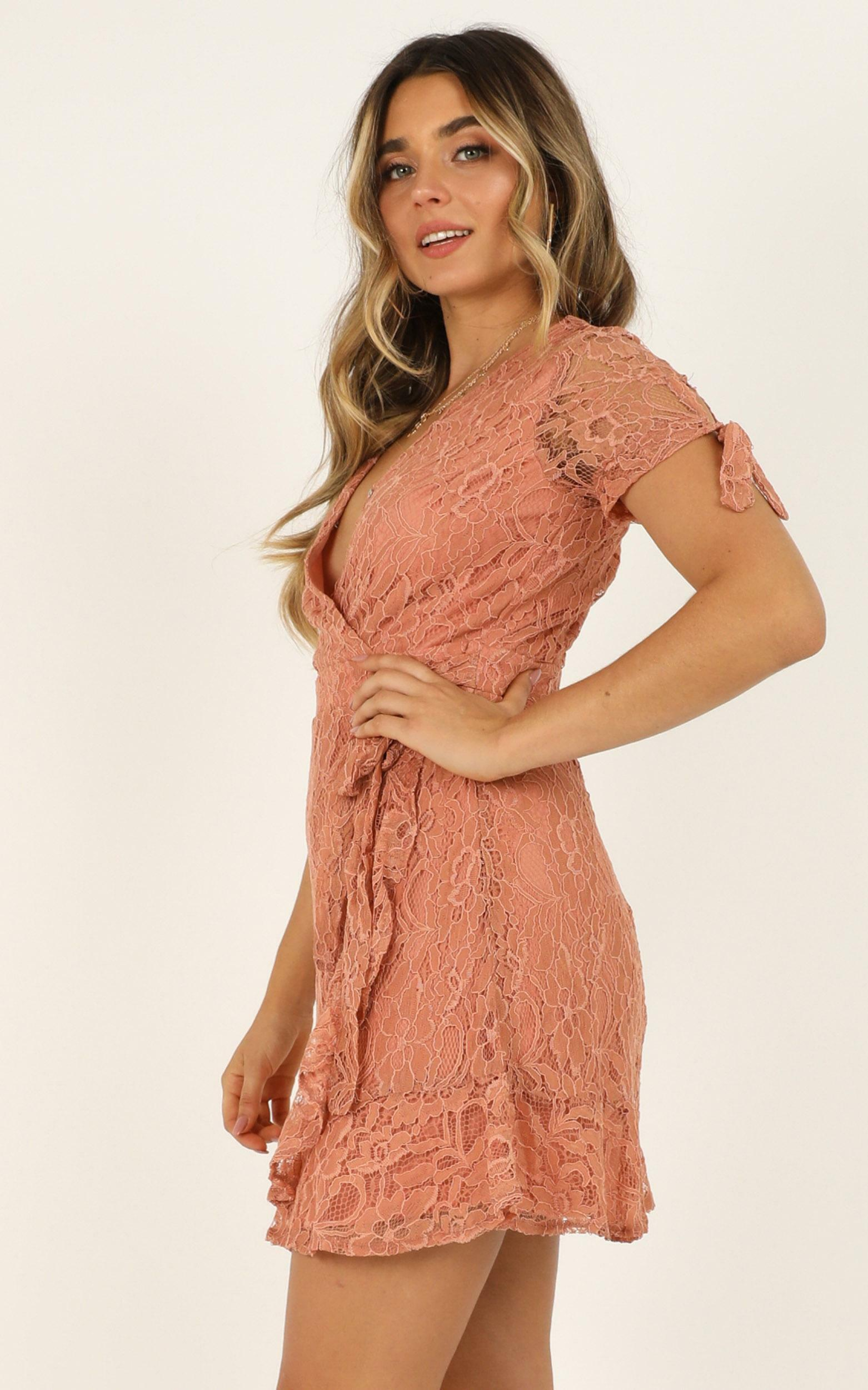 Sunset Lovers dress in mocha lace - 12 (L), Mocha, hi-res image number null