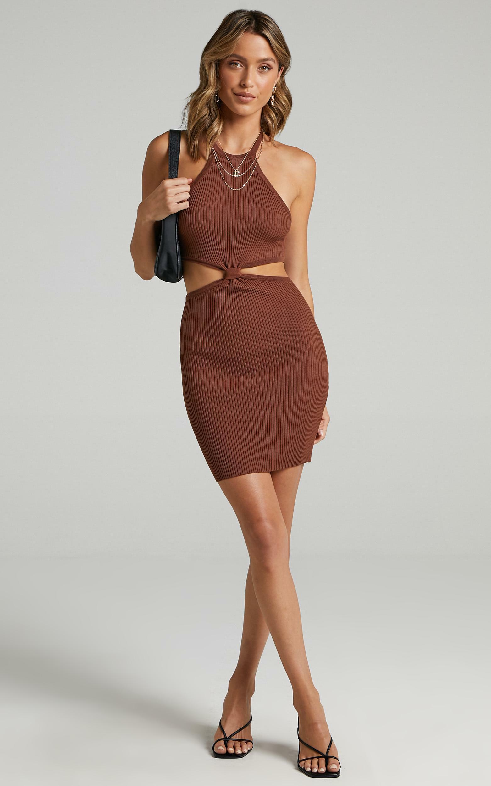 Demascio Dress in Brown - 06, BRN1, hi-res image number null
