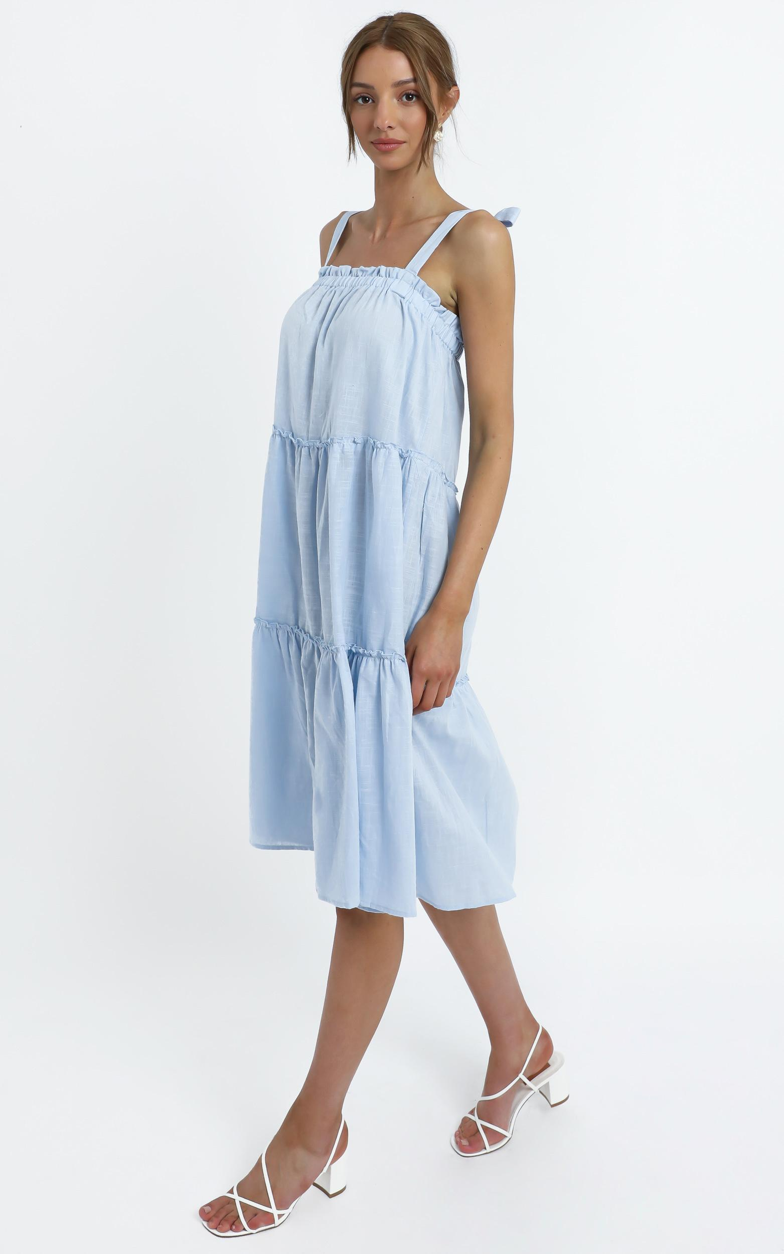 Marzia dress in Blue - 14 (XL), Blue, hi-res image number null