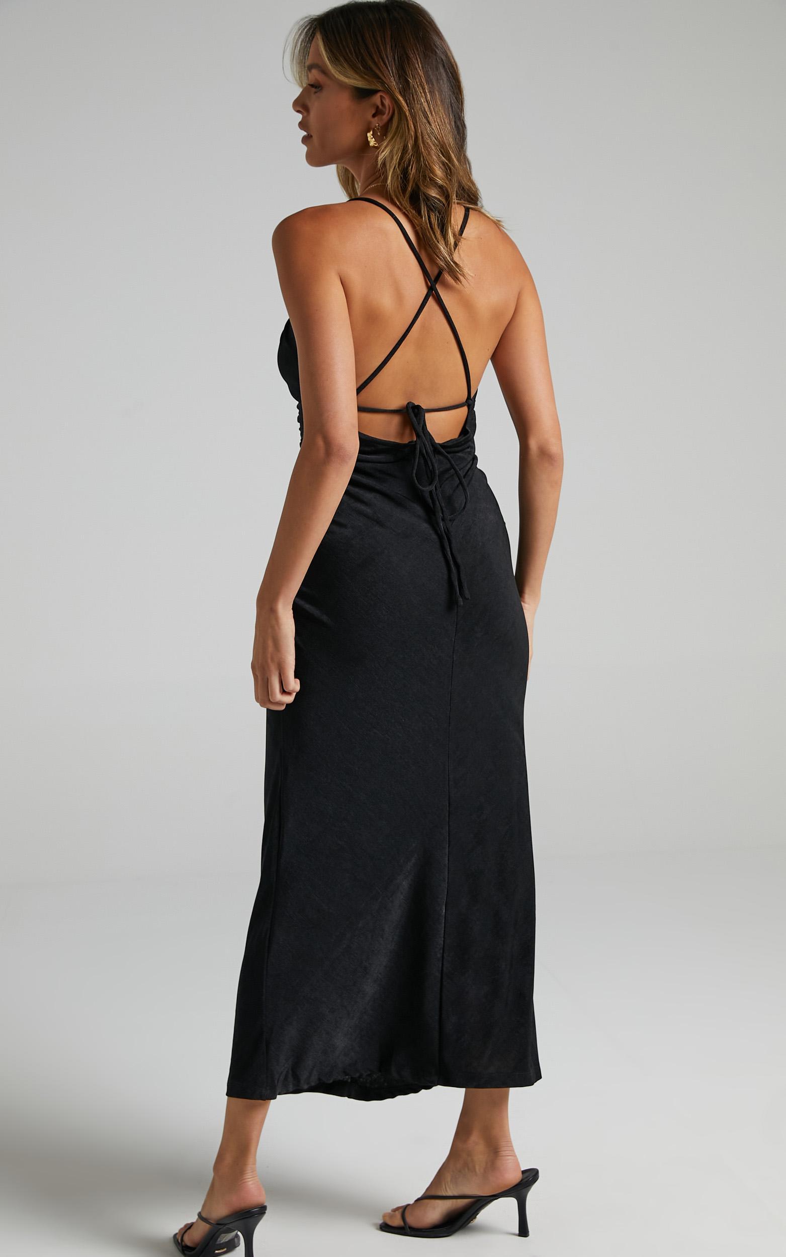 Yassie Dress in Black - 06, BLK1, hi-res image number null