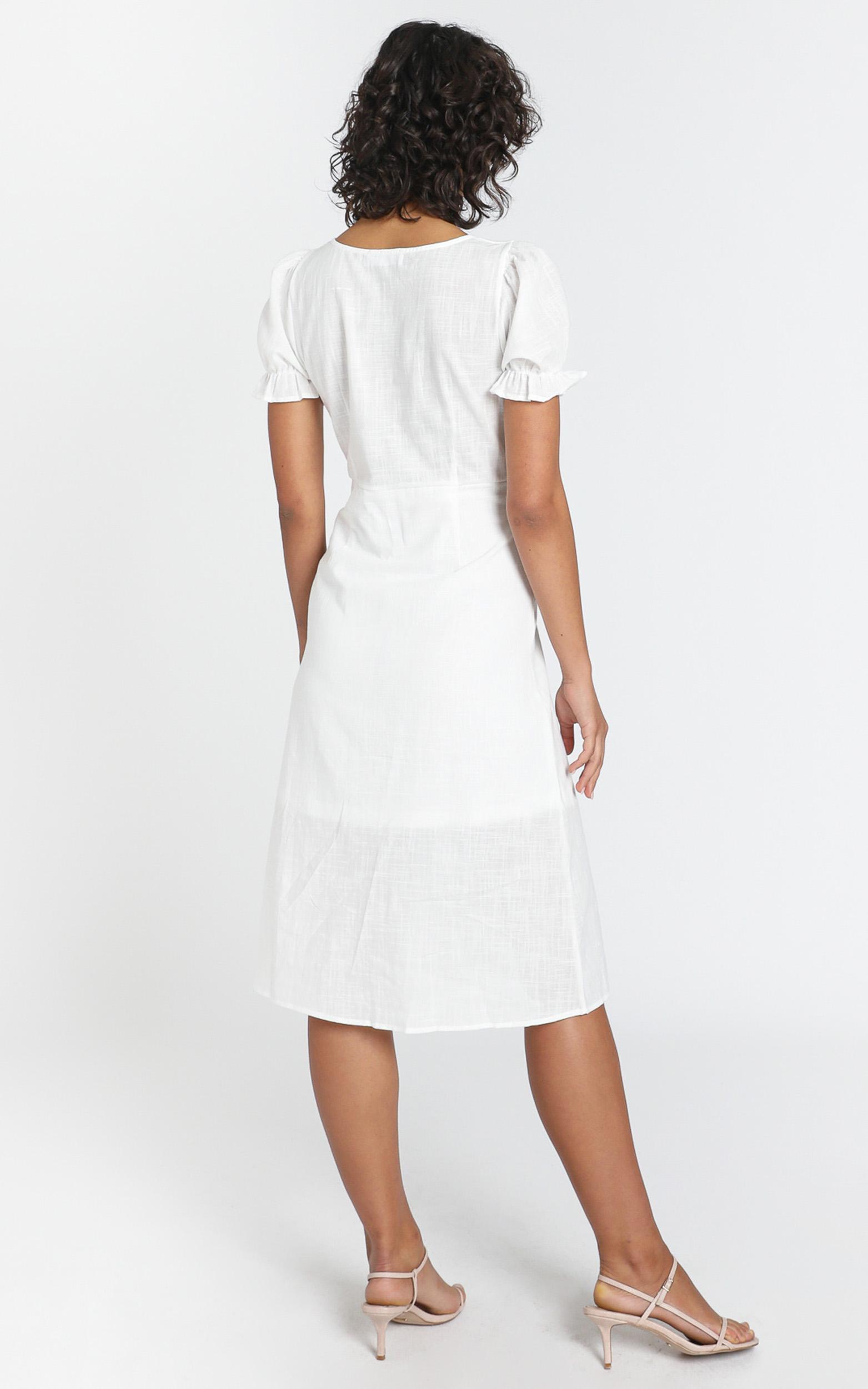 Myra Dress in white - 6 (XS), White, hi-res image number null