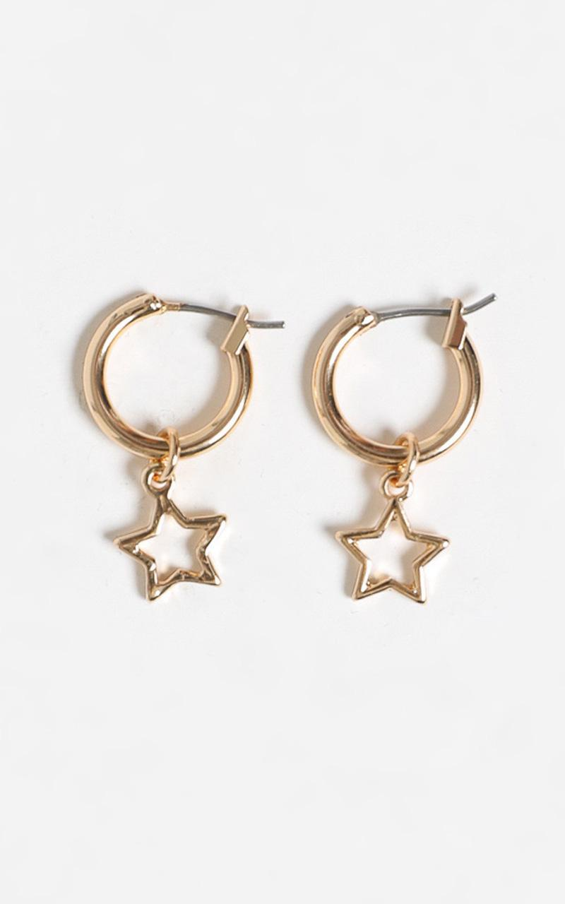 Bonnie Earrings in Gold, , hi-res image number null