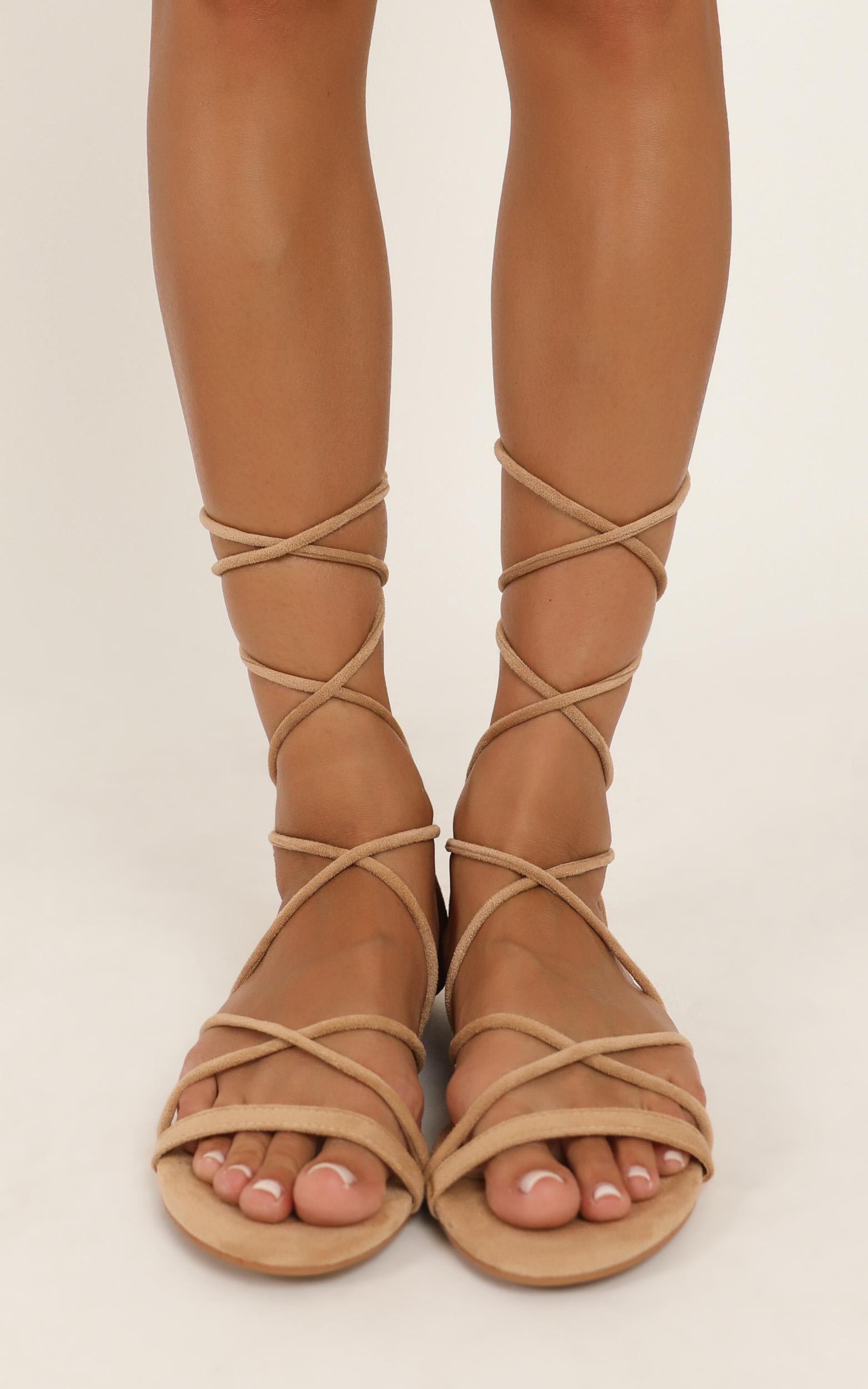 Billini - Dhana Sandals in camel micro - 10, Camel, hi-res image number null