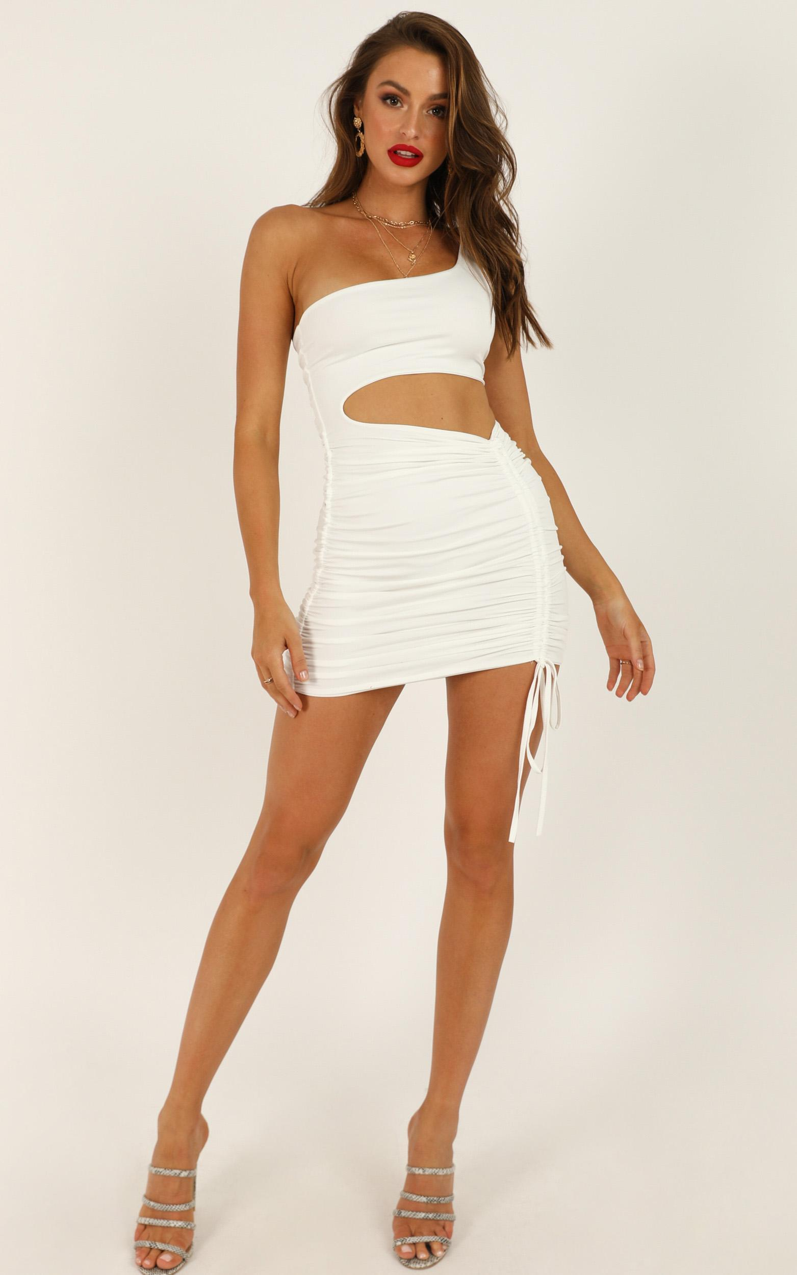 Strong Enough dress in white - 16 (XXL), White, hi-res image number null