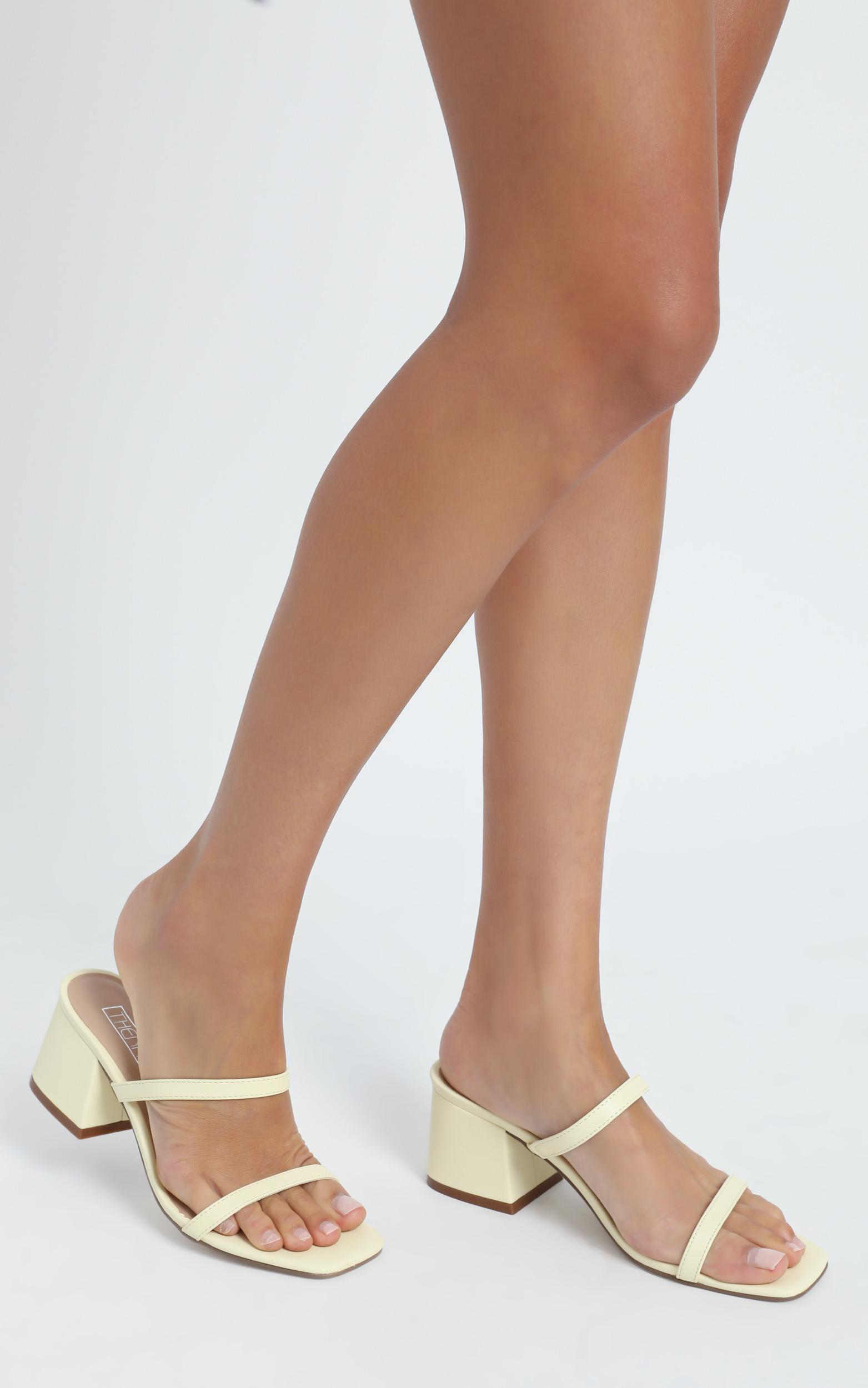 Therapy - Goldie Heels in Pastel Yellow - 5, YEL4, hi-res image number null